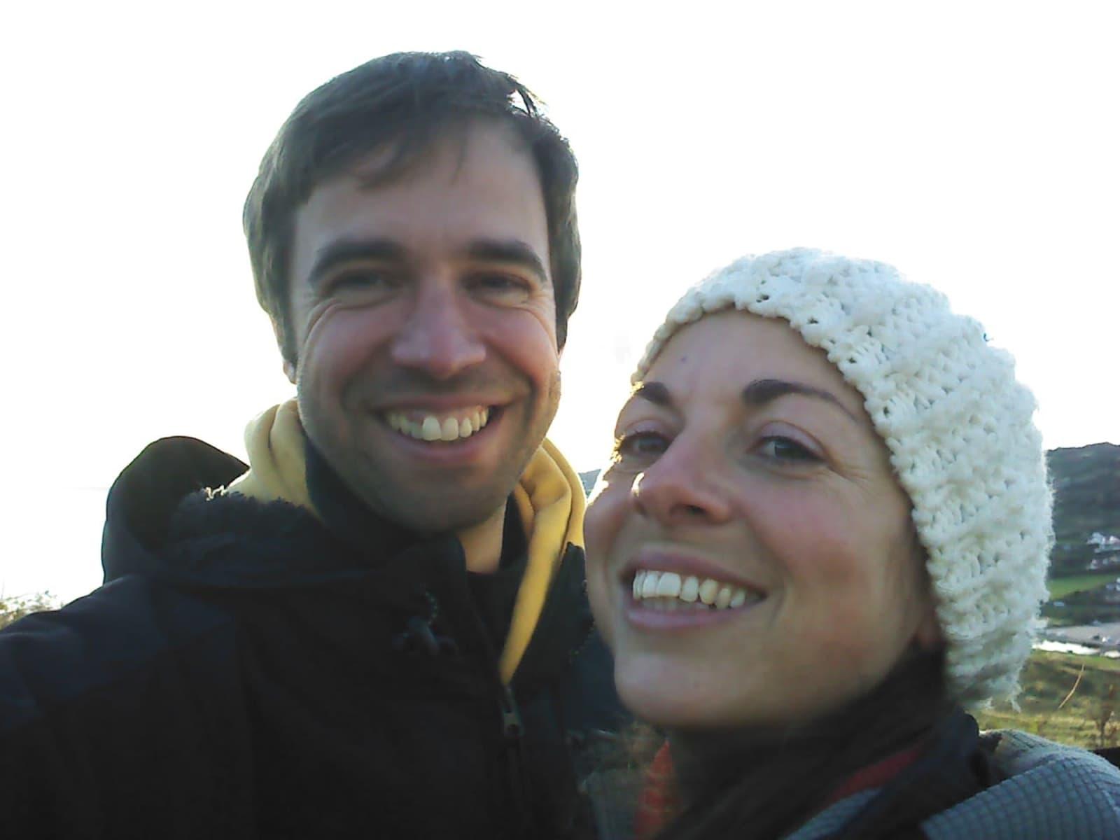 Alan & Jacqui from Glastonbury, United Kingdom