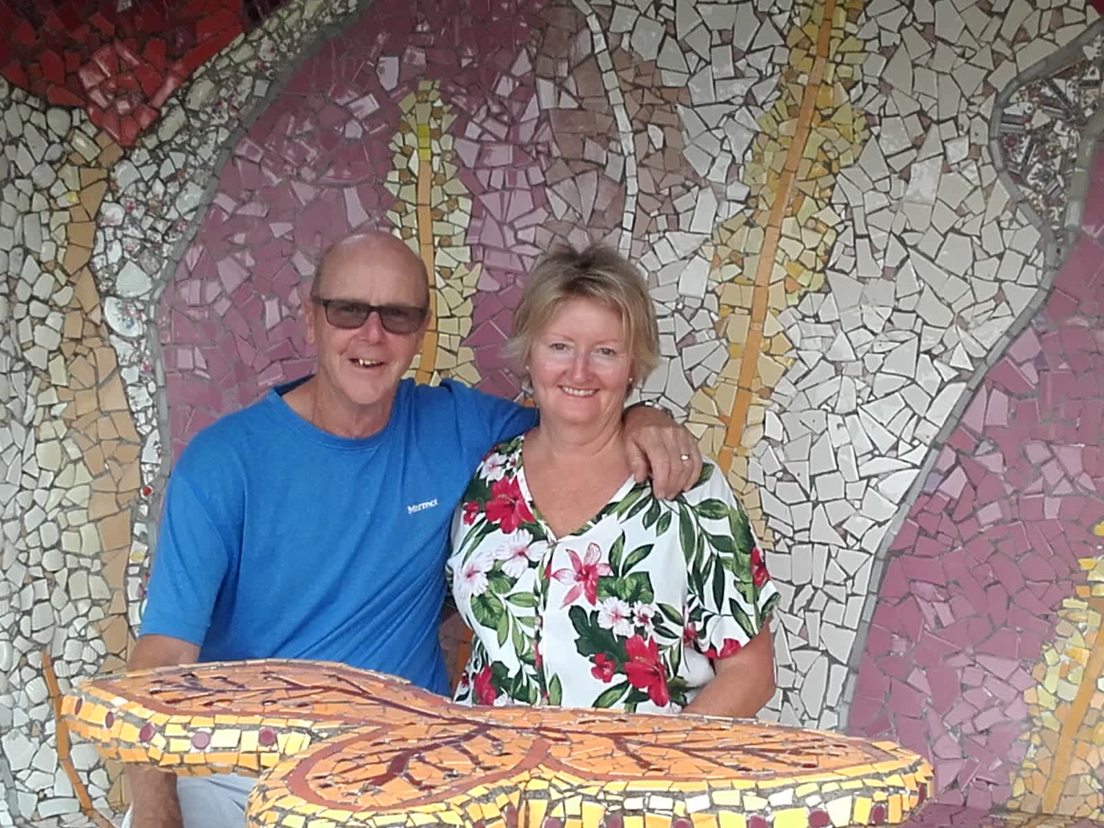 Phil & Clare from Whangamata, New Zealand