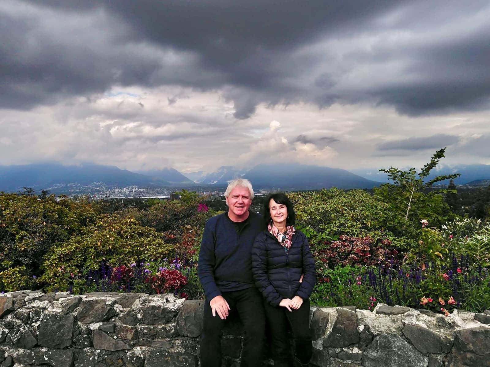 Janet & Tom from Kelowna, British Columbia, Canada