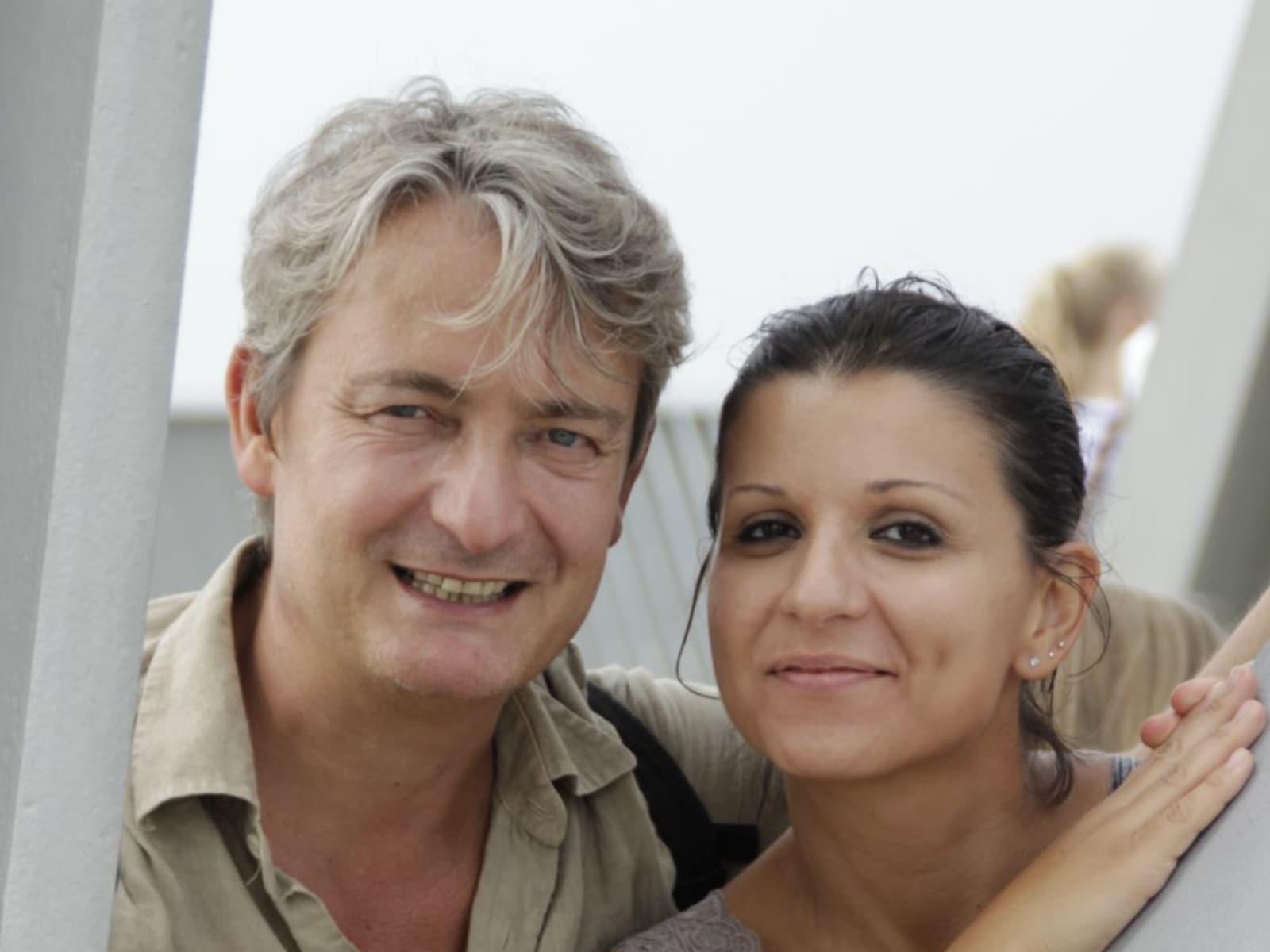 Fabiola & Ian james from Lecce, Italy