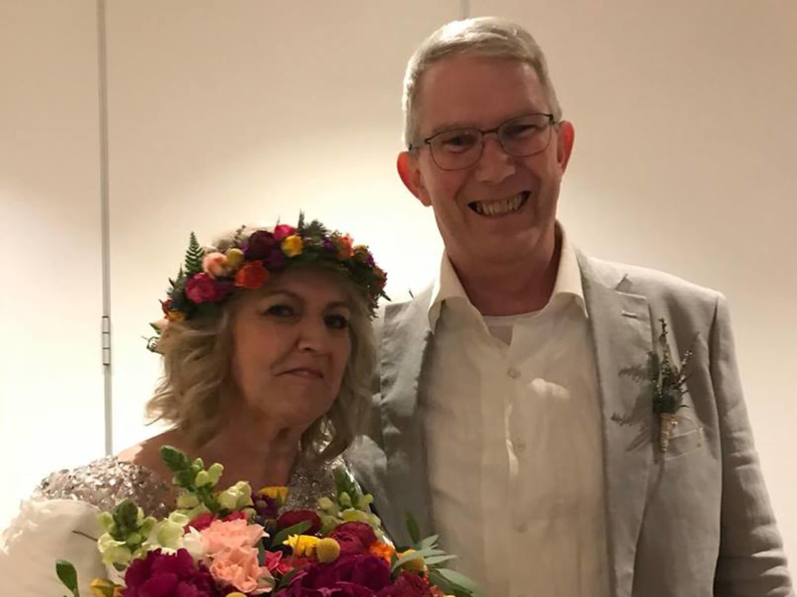Sharon & Alan from Melbourne, Victoria, Australia