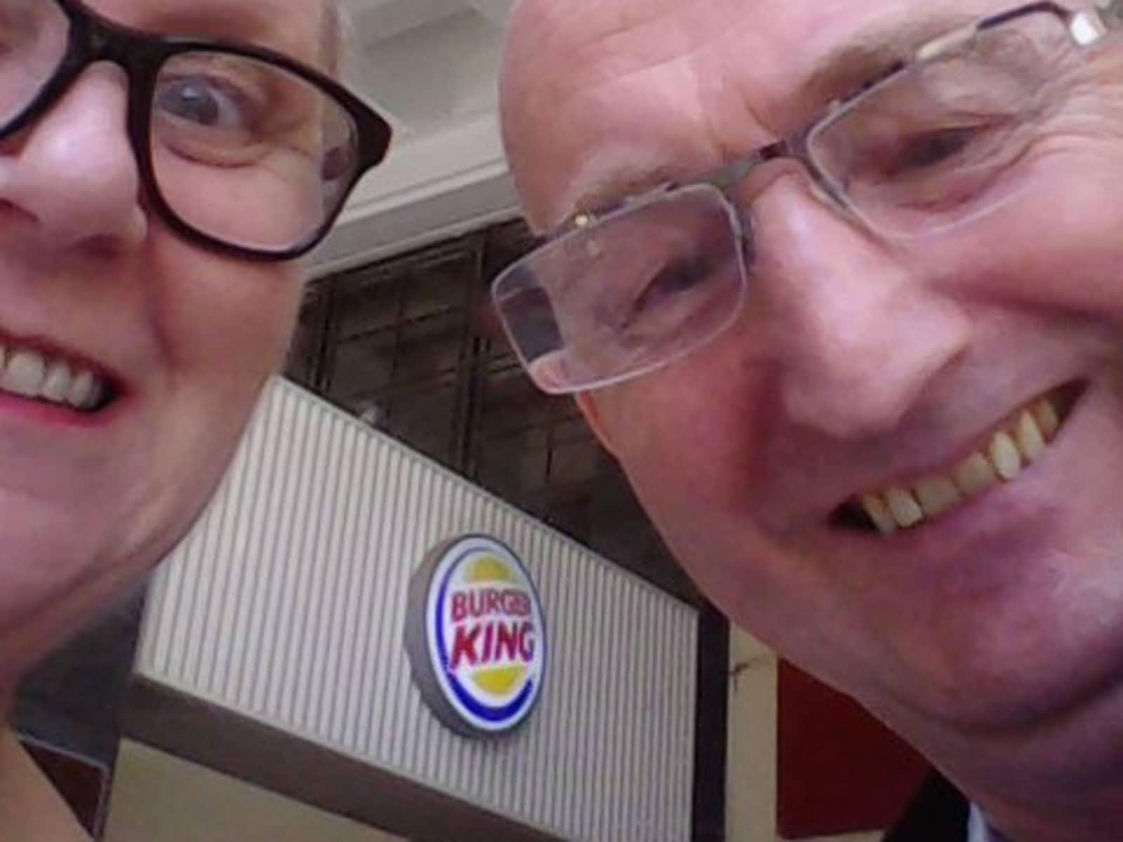 Irene & Chris from Edinburgh, United Kingdom