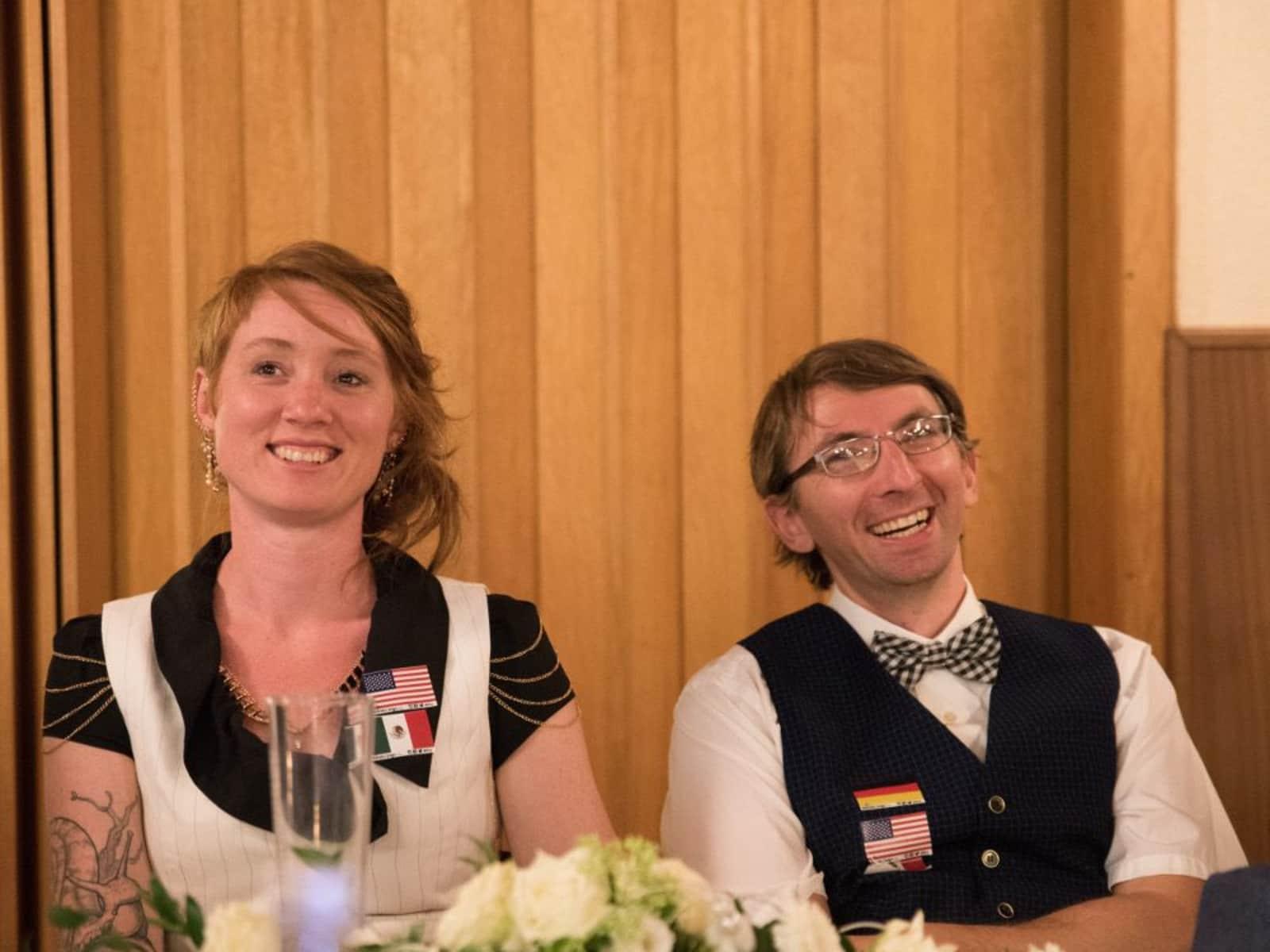 Florian & Michela from Bangkok, Thailand