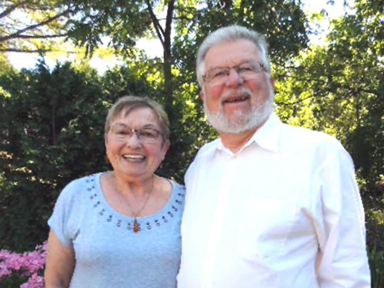 Virginia & Ron from Pictou, Nova Scotia, Canada