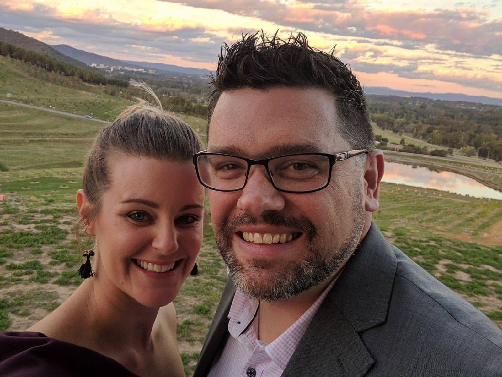 Rebecca & Nathan from Canberra, Australian Capital Territory, Australia