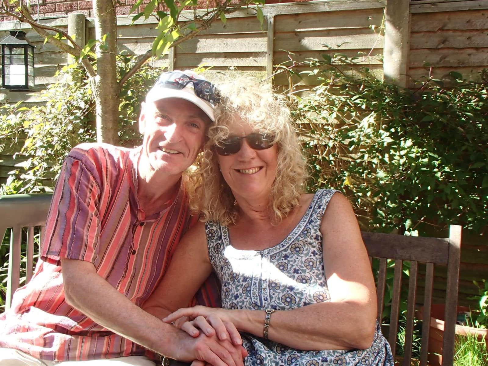Gill & Garry from Cheadle, United Kingdom