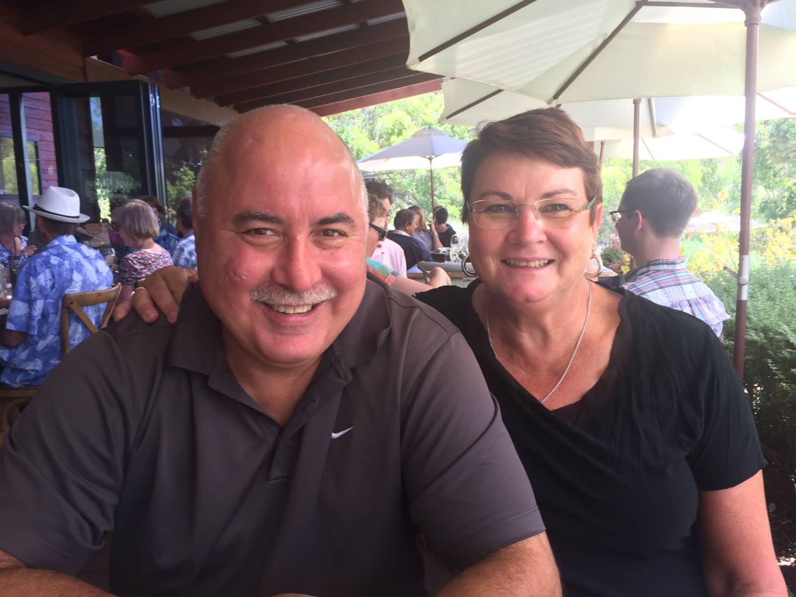 Sue & Jeff from Perth, Western Australia, Australia