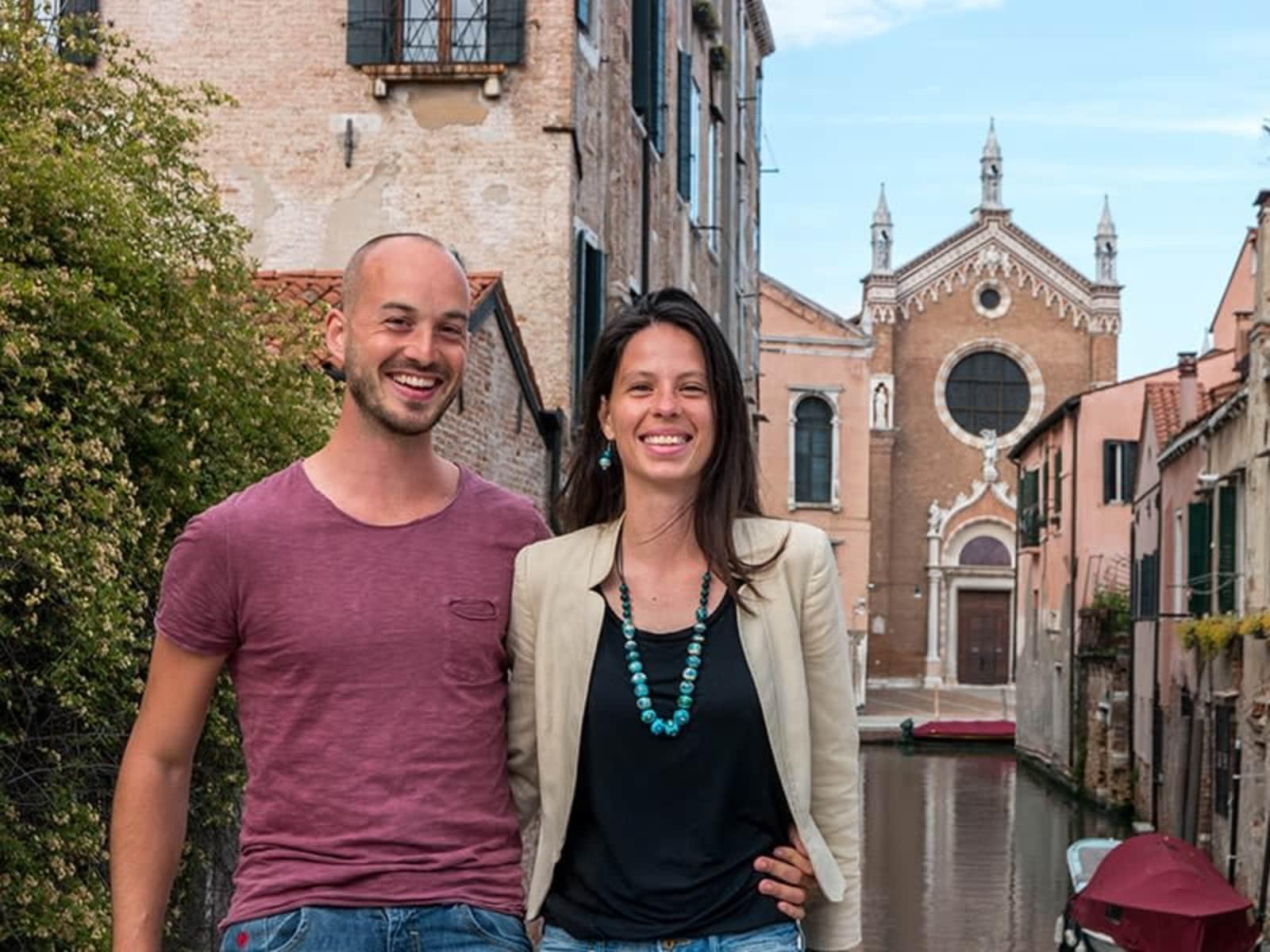 Valeria & Sebastian from Venice, Italy