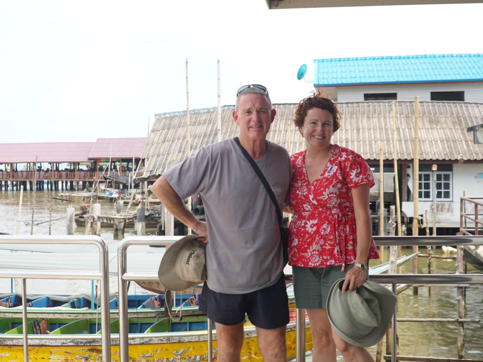 Barbara & Steve from Northam, Western Australia, Australia