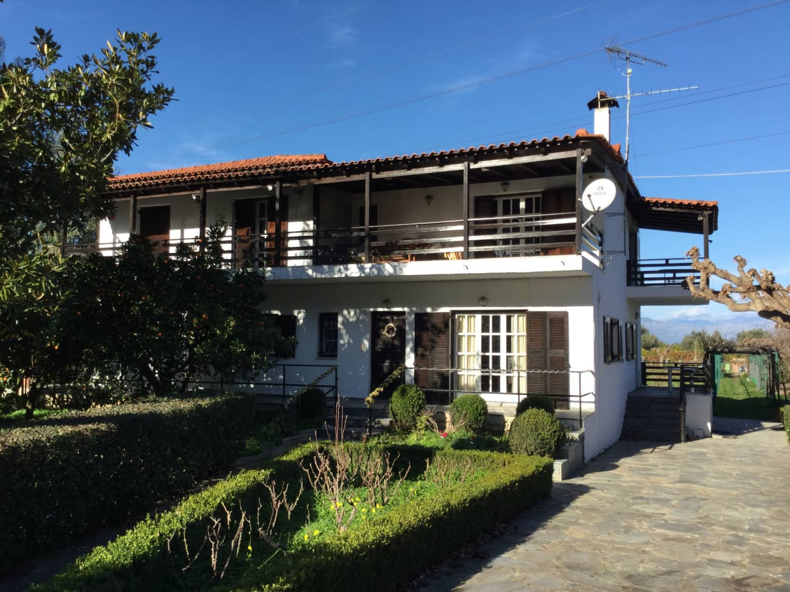 Housesitting assignment in Diakoptó, Greece