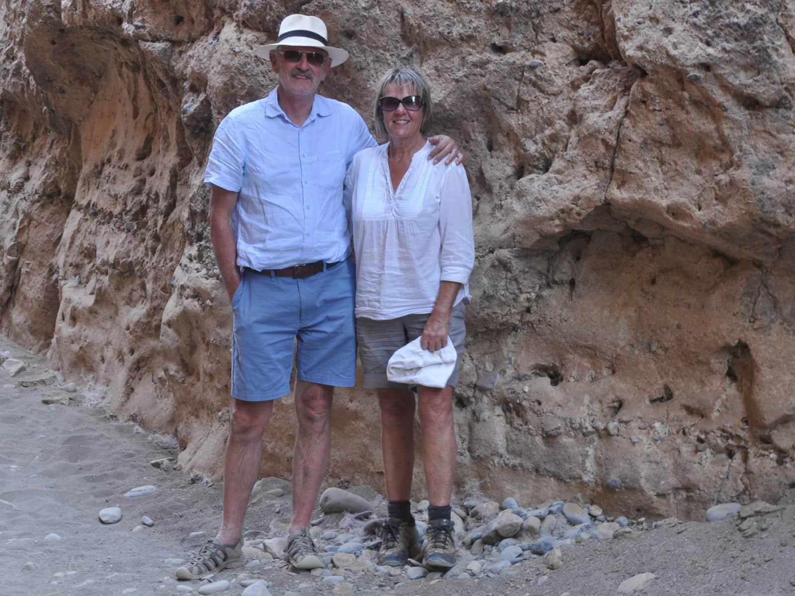 David & Rosemary from Bridport, United Kingdom