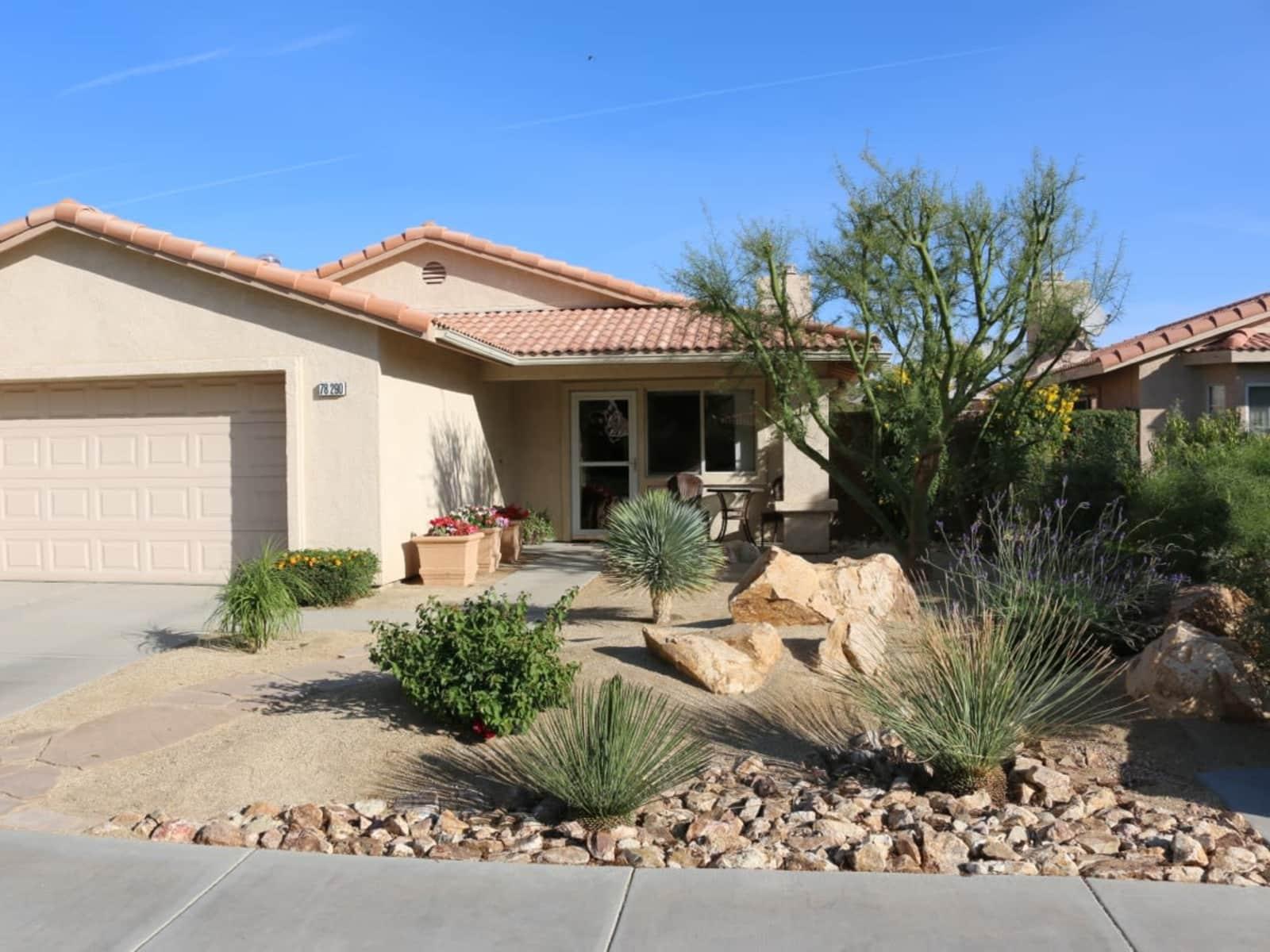 Housesitting assignment in La Quinta, California, United States