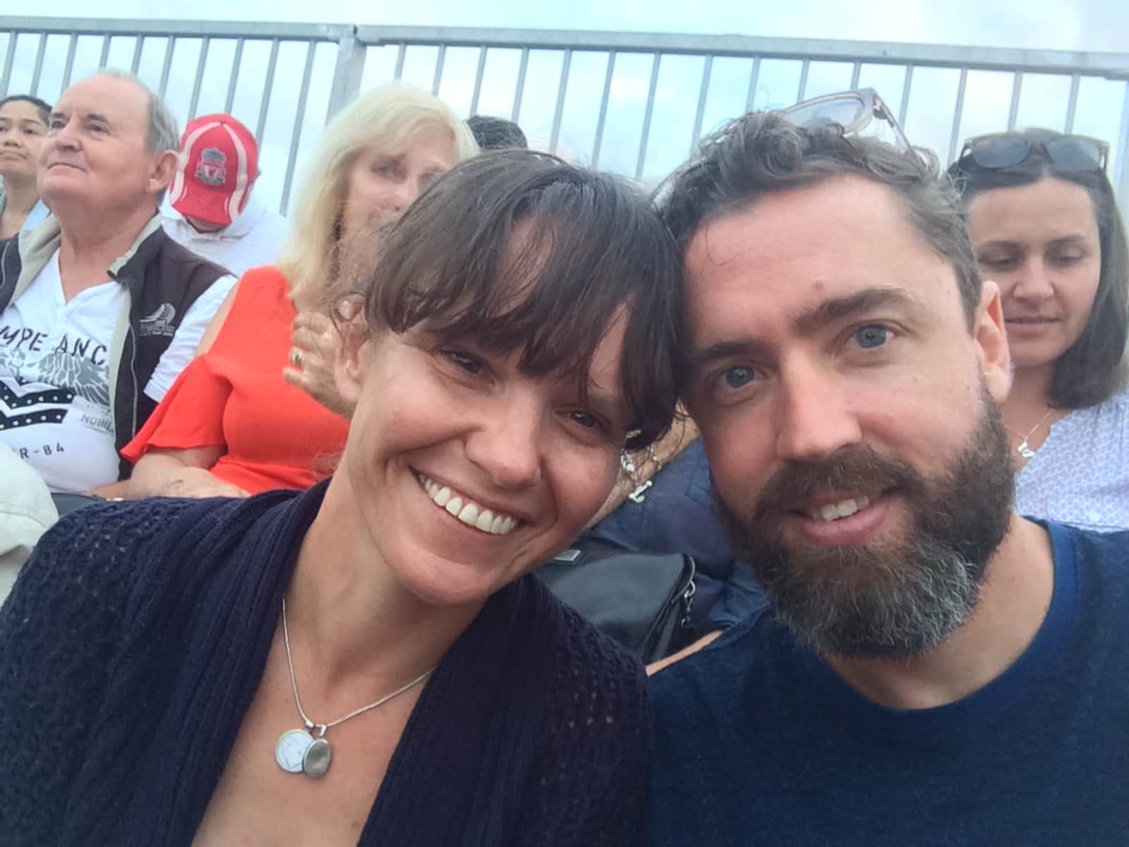 Claire & Stephen from Auckland, New Zealand