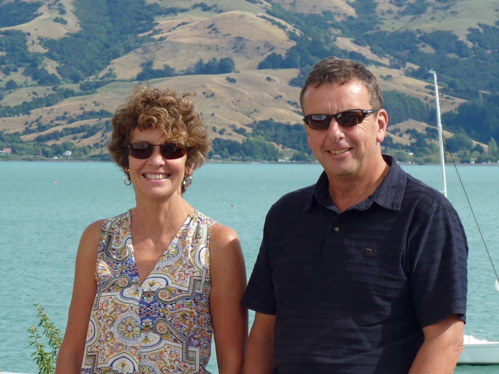 Maria & Richard from Christchurch, New Zealand