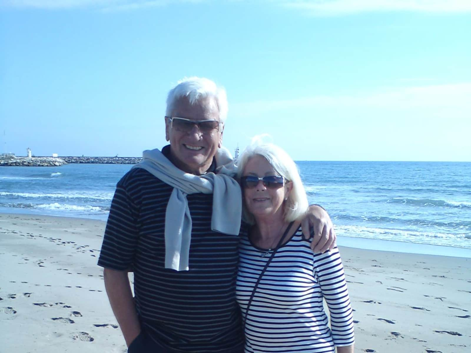 Barry & Maureen from Shrewsbury, United Kingdom
