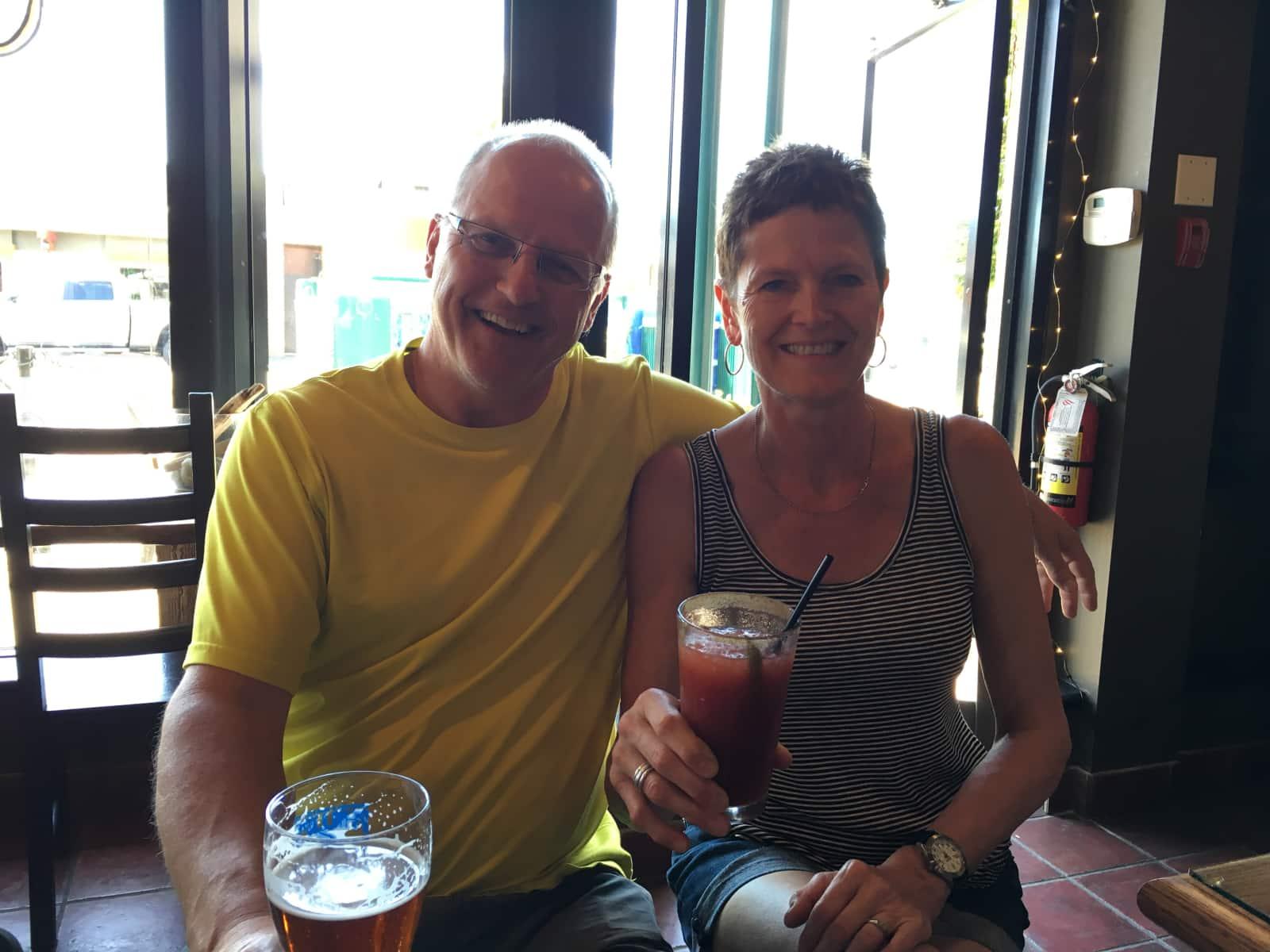 Rick & Margaret from Winnipeg, Manitoba, Canada