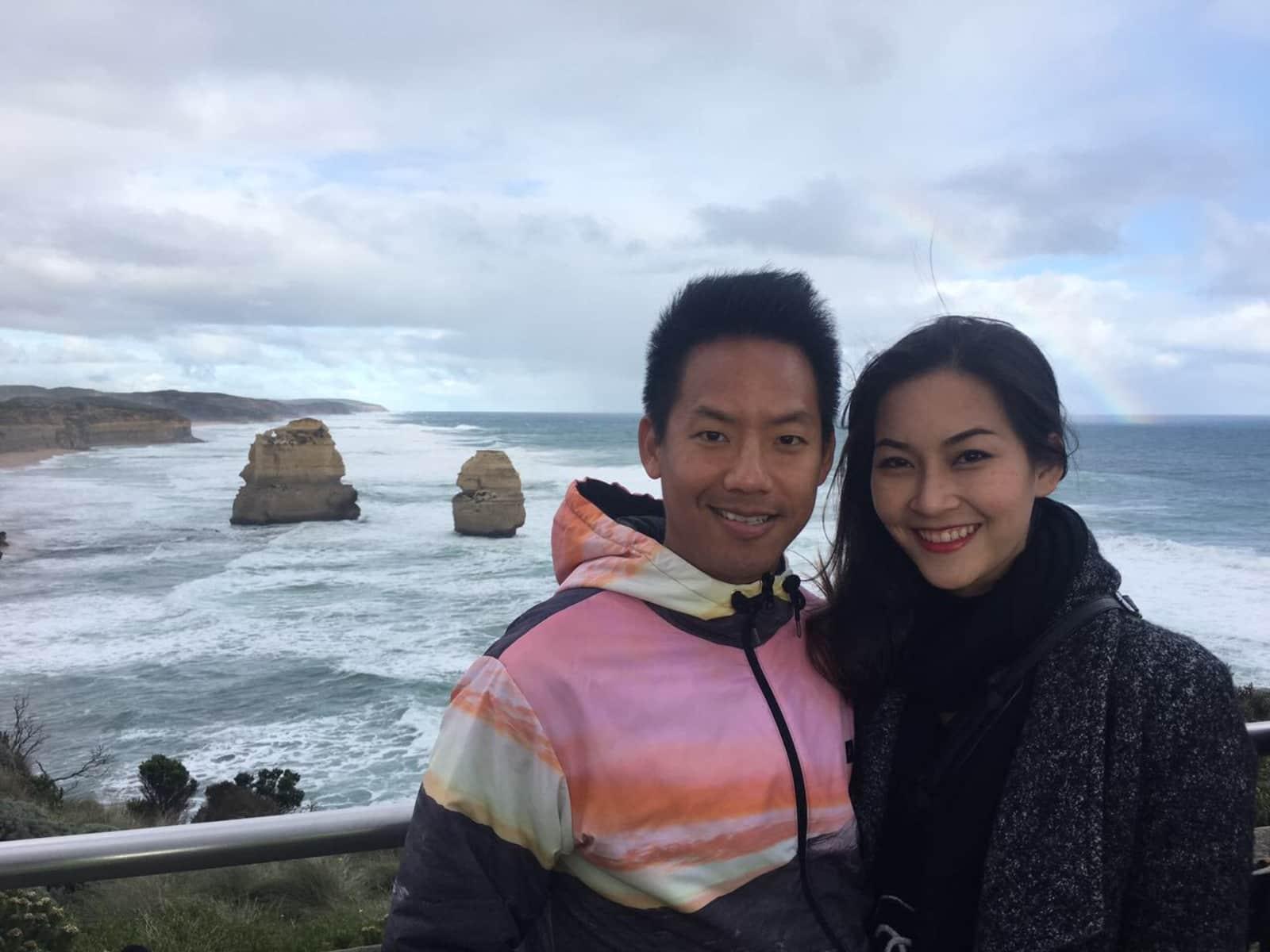 Josiah & Nattha from Melbourne, Victoria, Australia