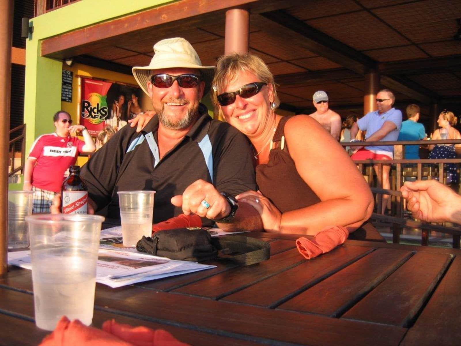 Linda & Roger from Calgary, Alberta, Canada