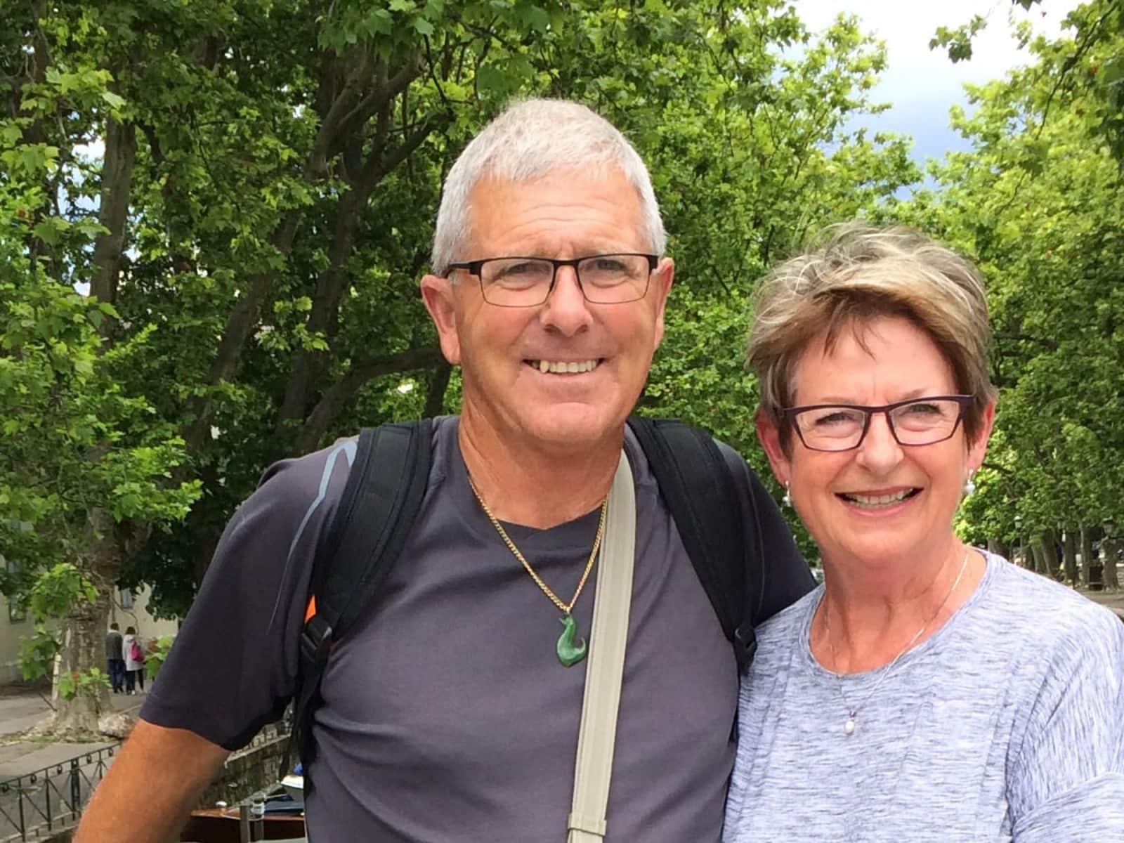 Kay & Wayne from Motueka, New Zealand