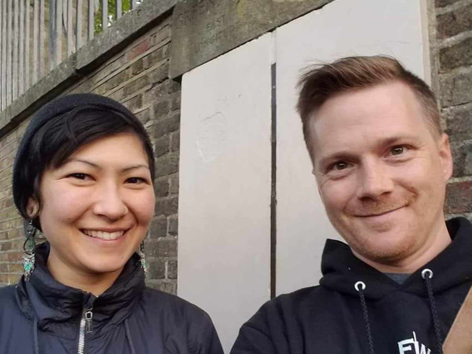 Emi & Mark from London, United Kingdom