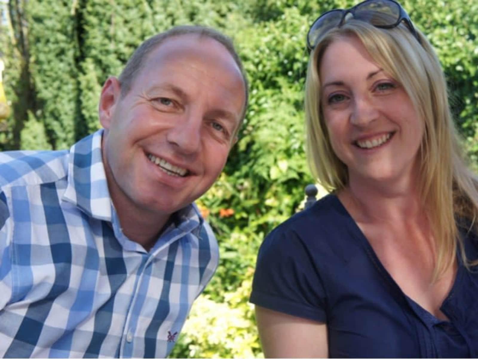 Clair louise & Michael from Glastonbury, United Kingdom