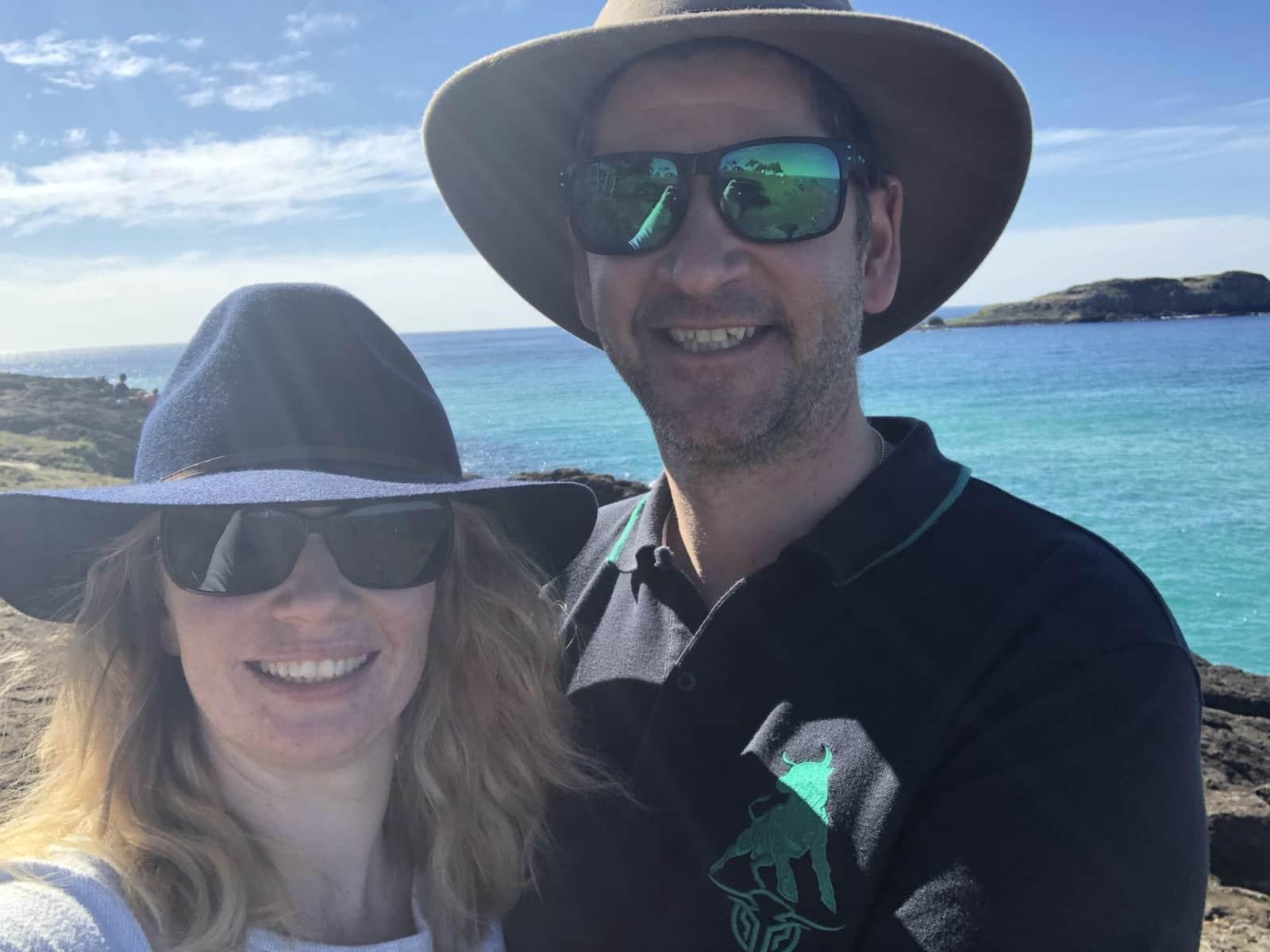 Troy & Rebekah from Brisbane, Queensland, Australia