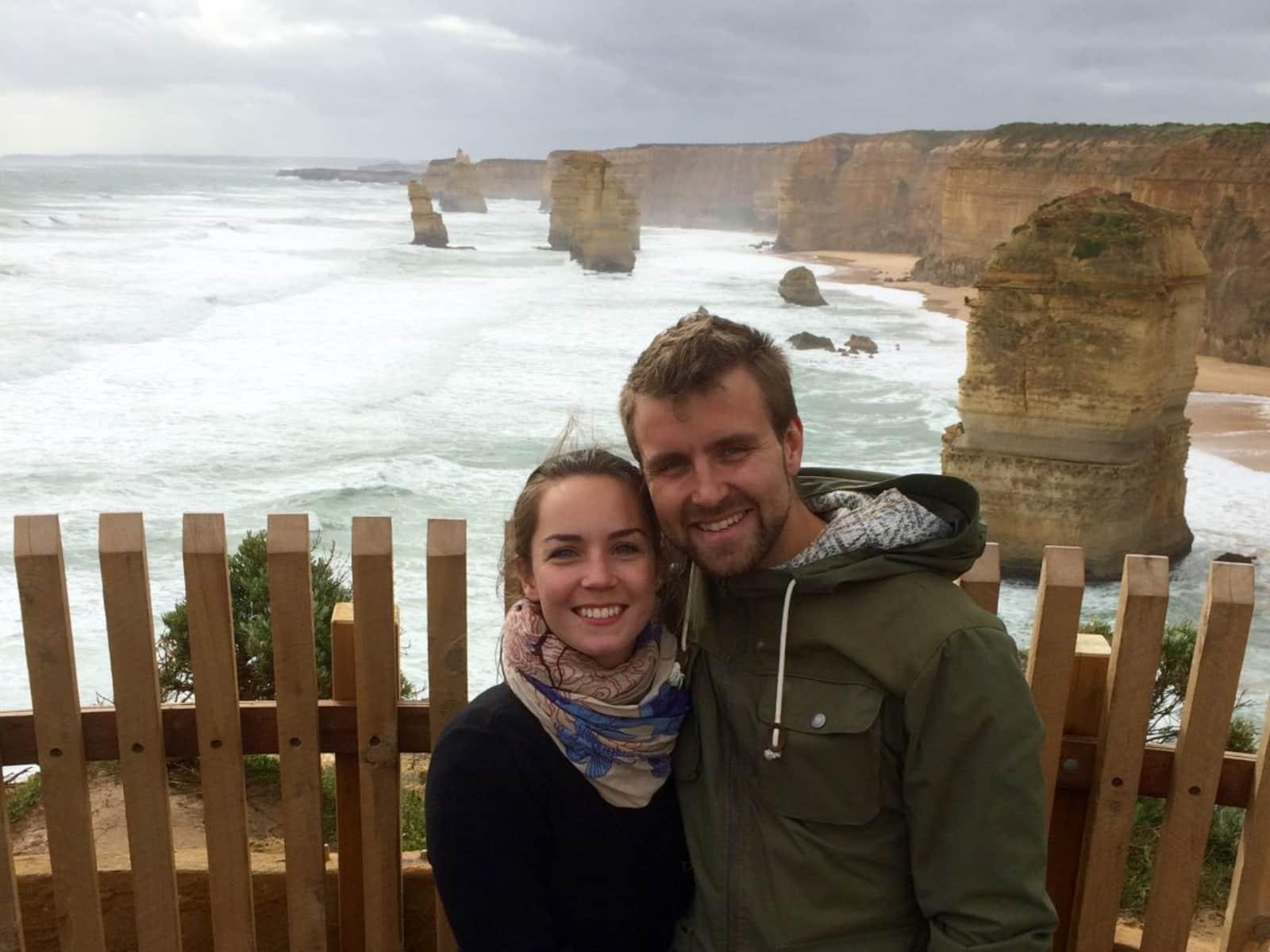 Anne cathrine & Oleg mikael from Copenhagen, Denmark