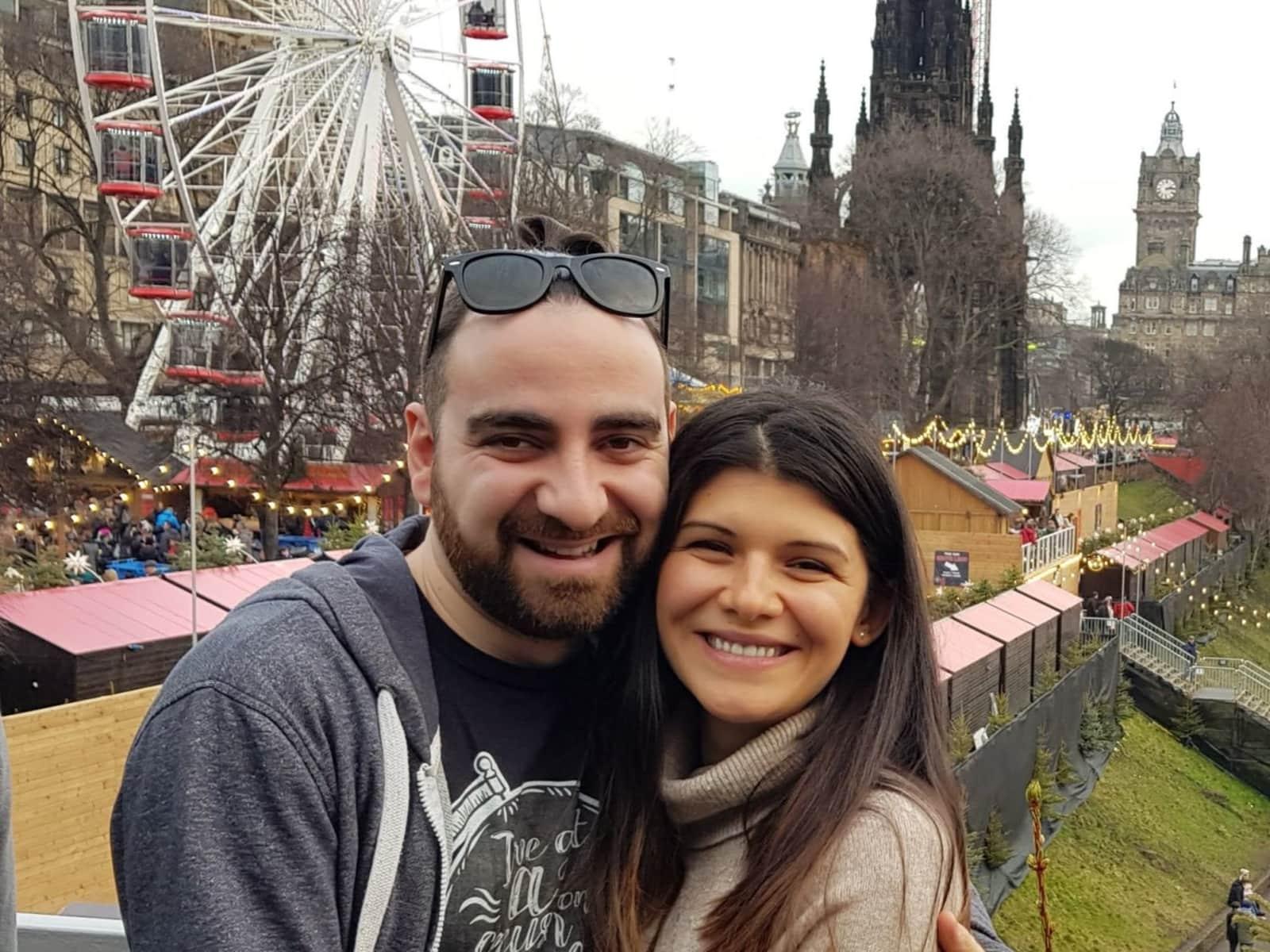Slagjana & Petar from Sofia, Bulgaria