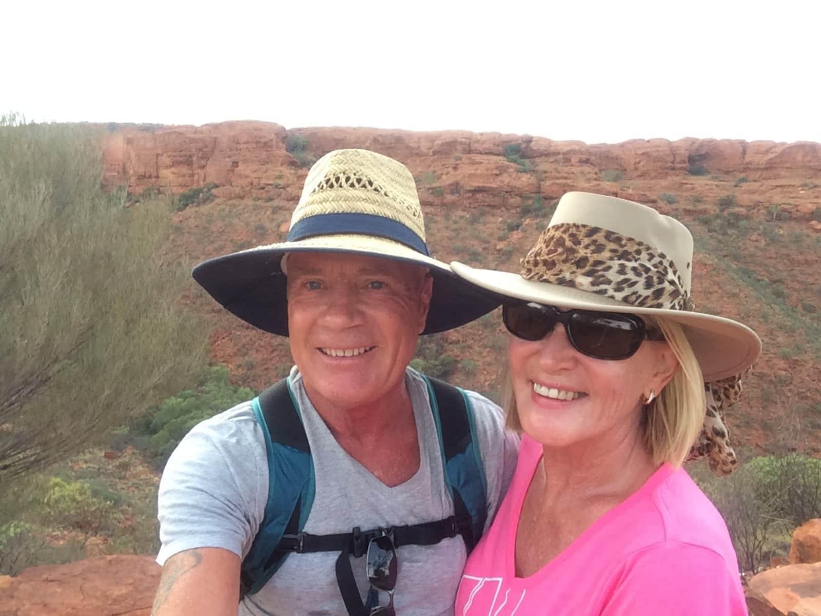 Sandra & John from Melbourne, Victoria, Australia