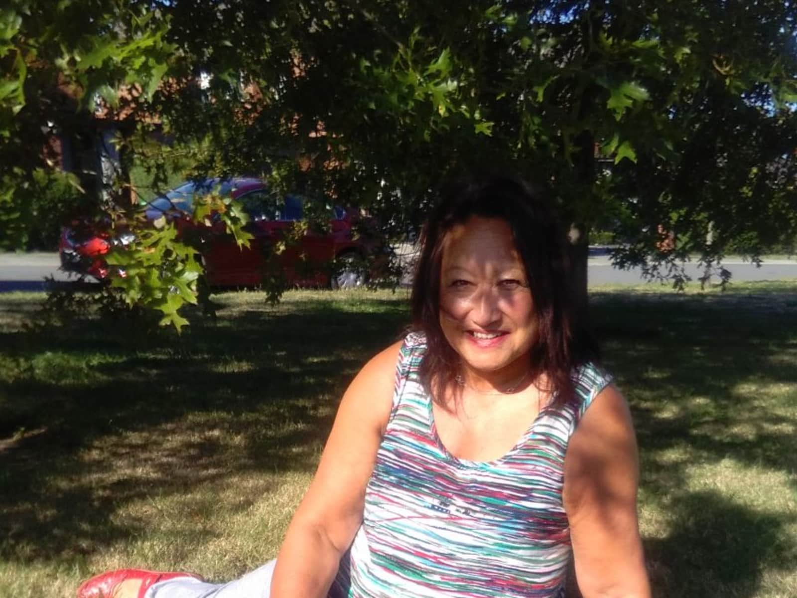 Joanie from Christchurch, New Zealand