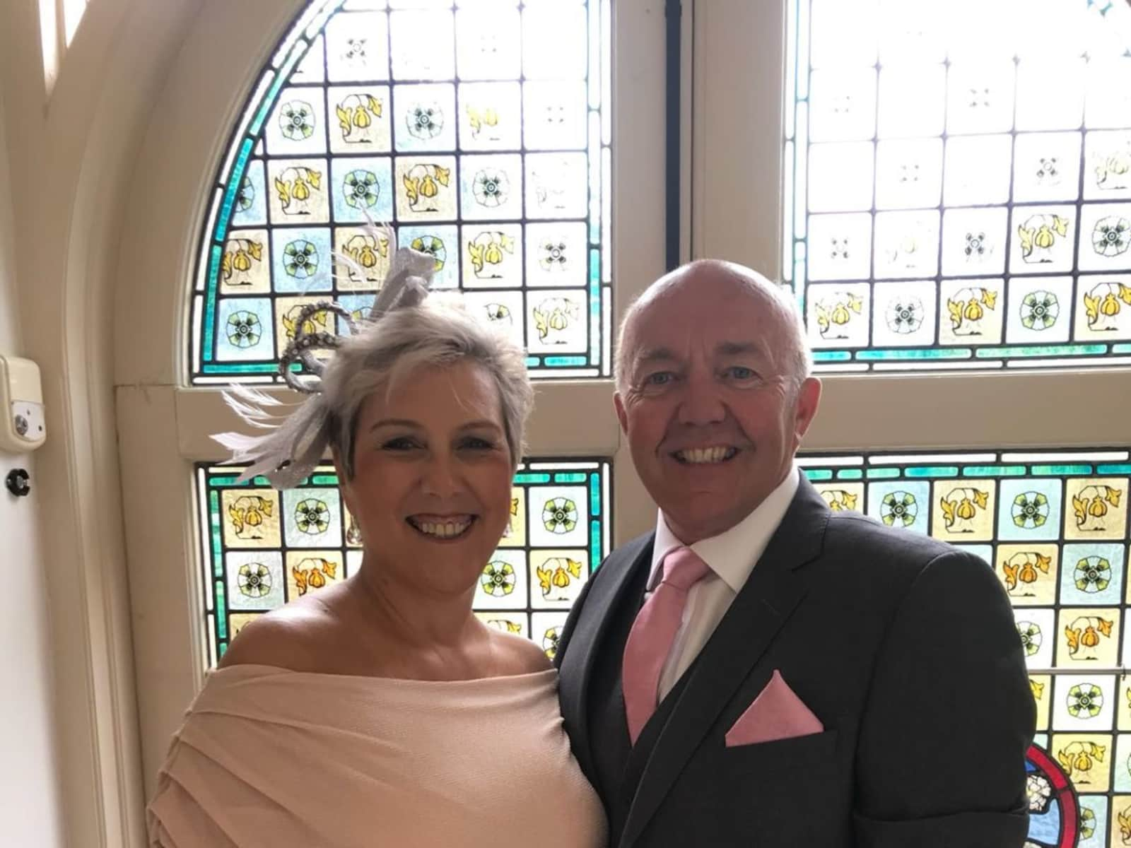 Lynn & Mark from Sheffield, United Kingdom