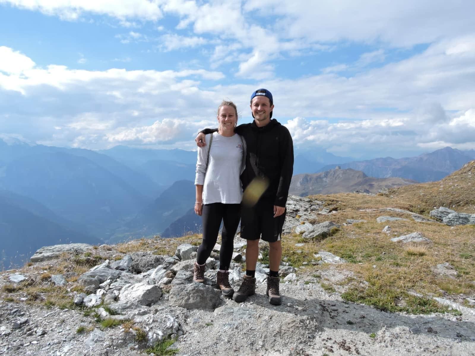 Nicole & Andrew from Zürich, Switzerland