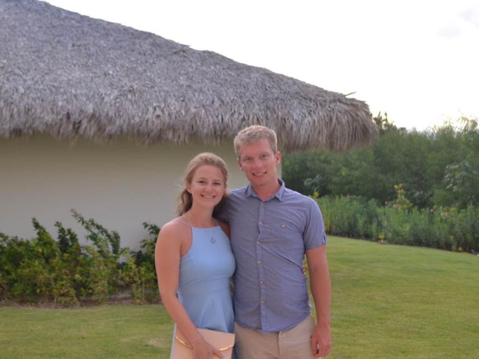 Corbin & Emma from Reading, United Kingdom