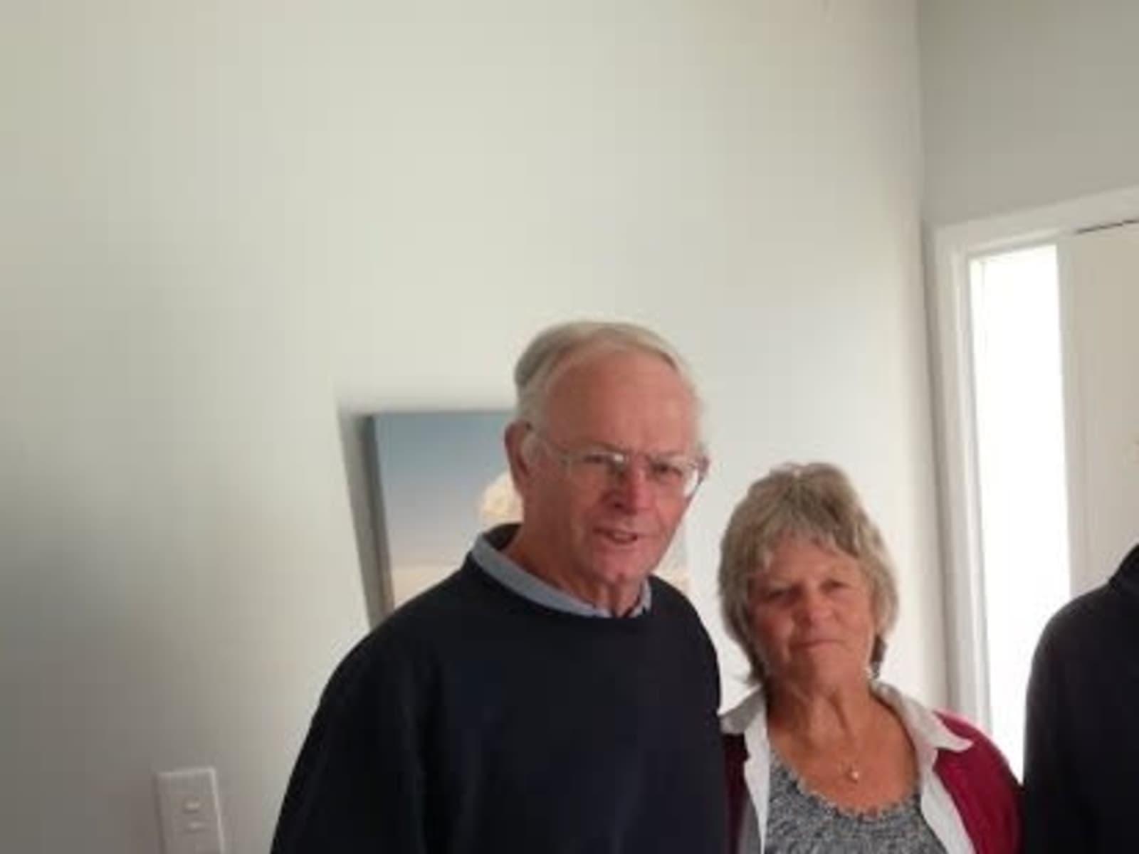 Lindsay & Ian from Whitianga, New Zealand