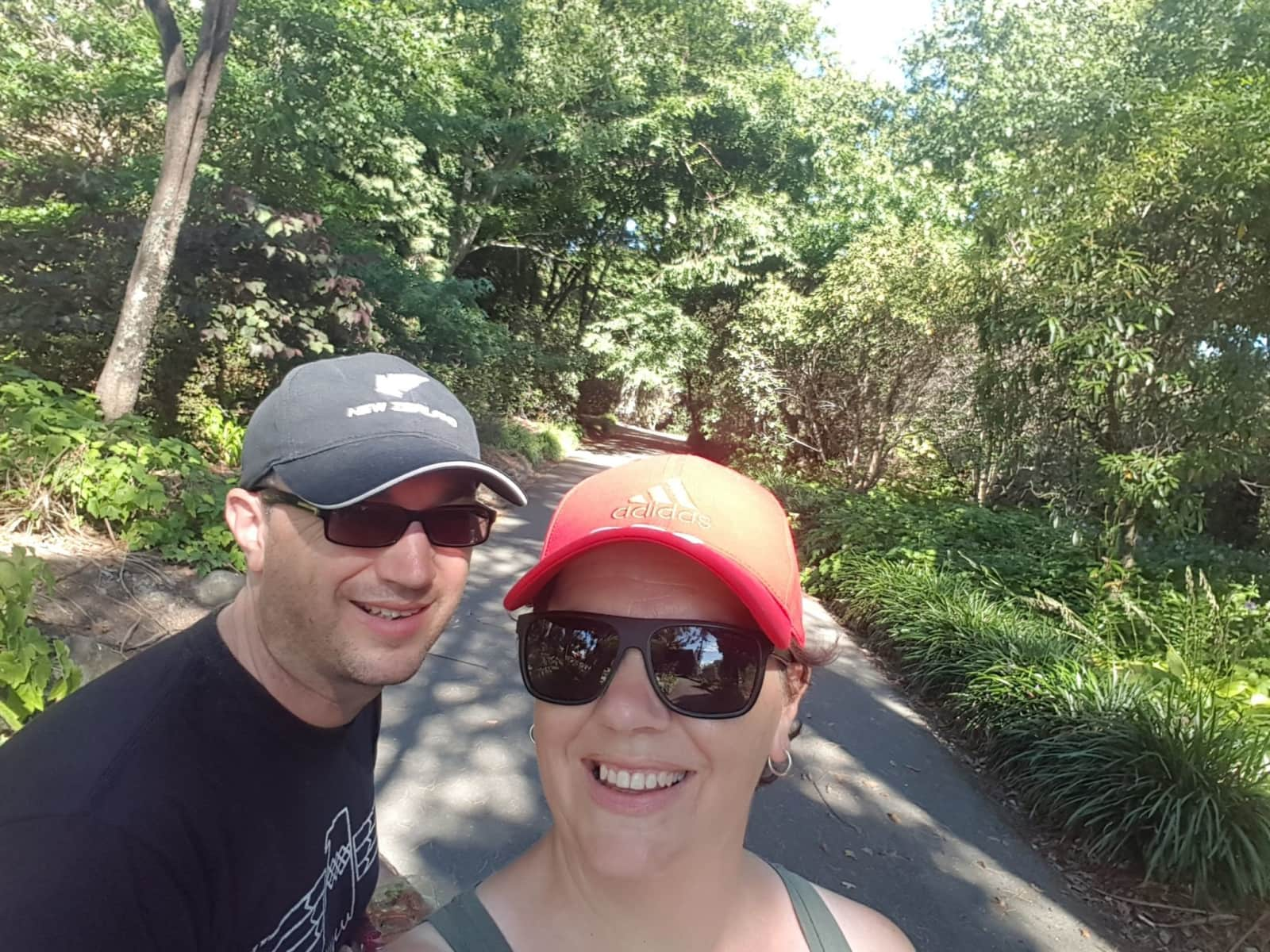 Michelle and simon from Nelson, New Zealand