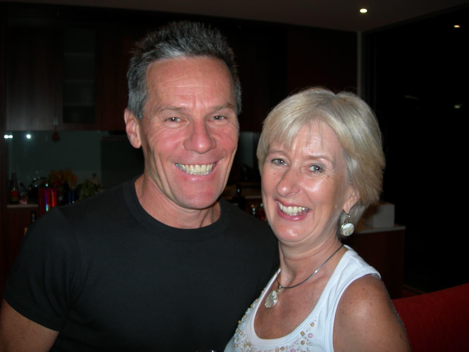 Ann & David from Fitzroy, Victoria, Australia