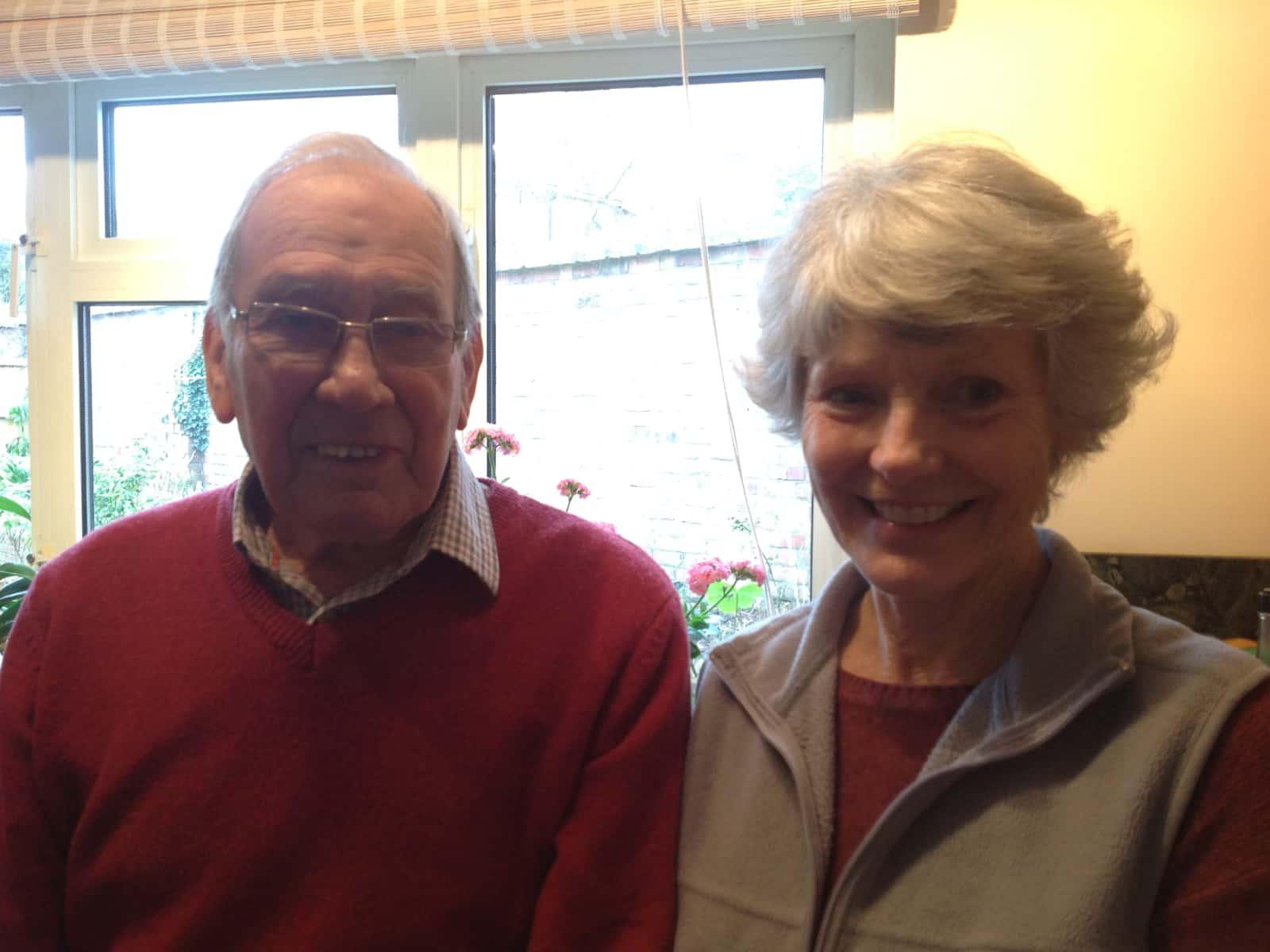 Teresa & Alan from Charfield, United Kingdom