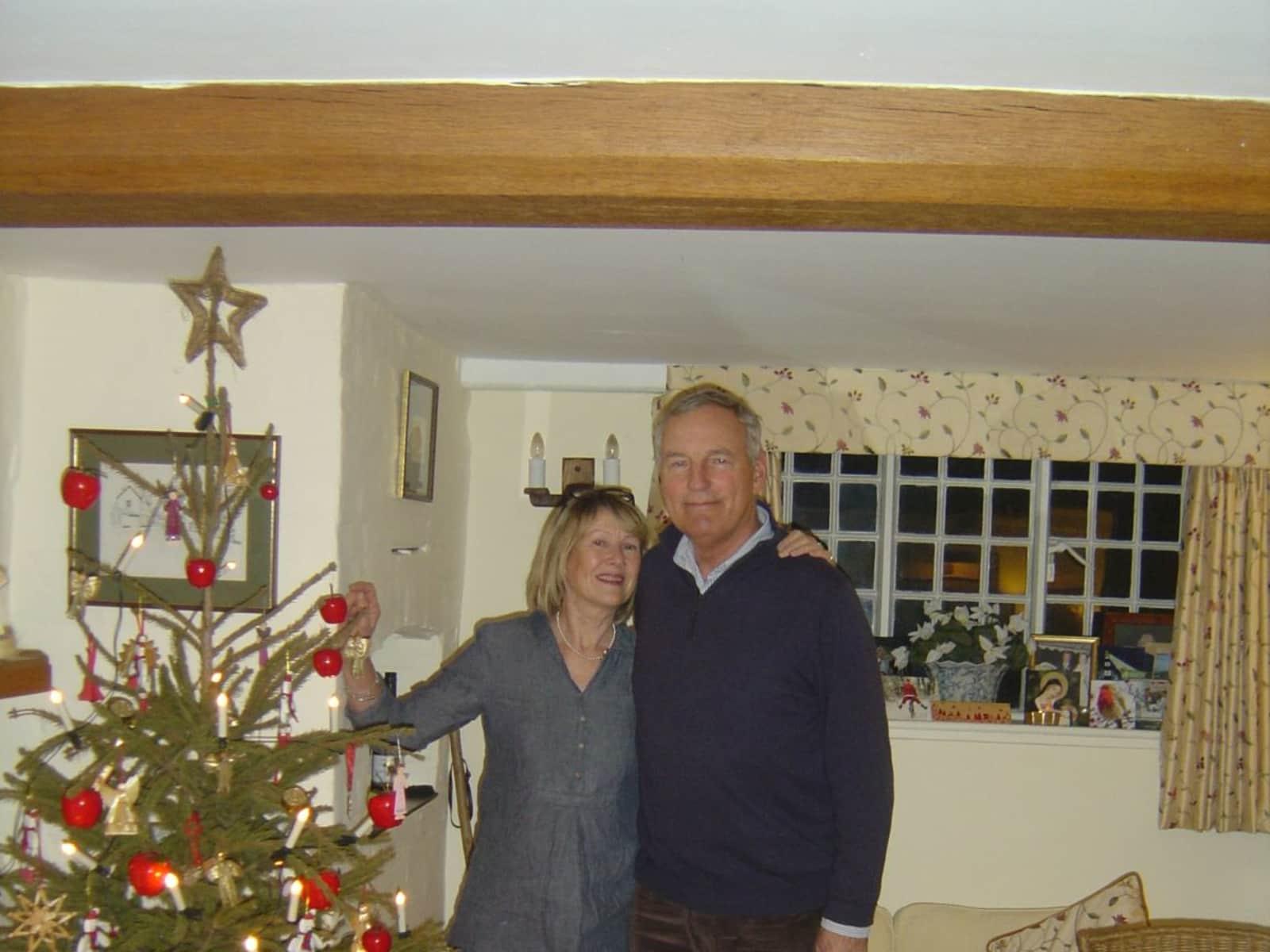 Patricia  & Andrew from Tarrant Monkton, United Kingdom
