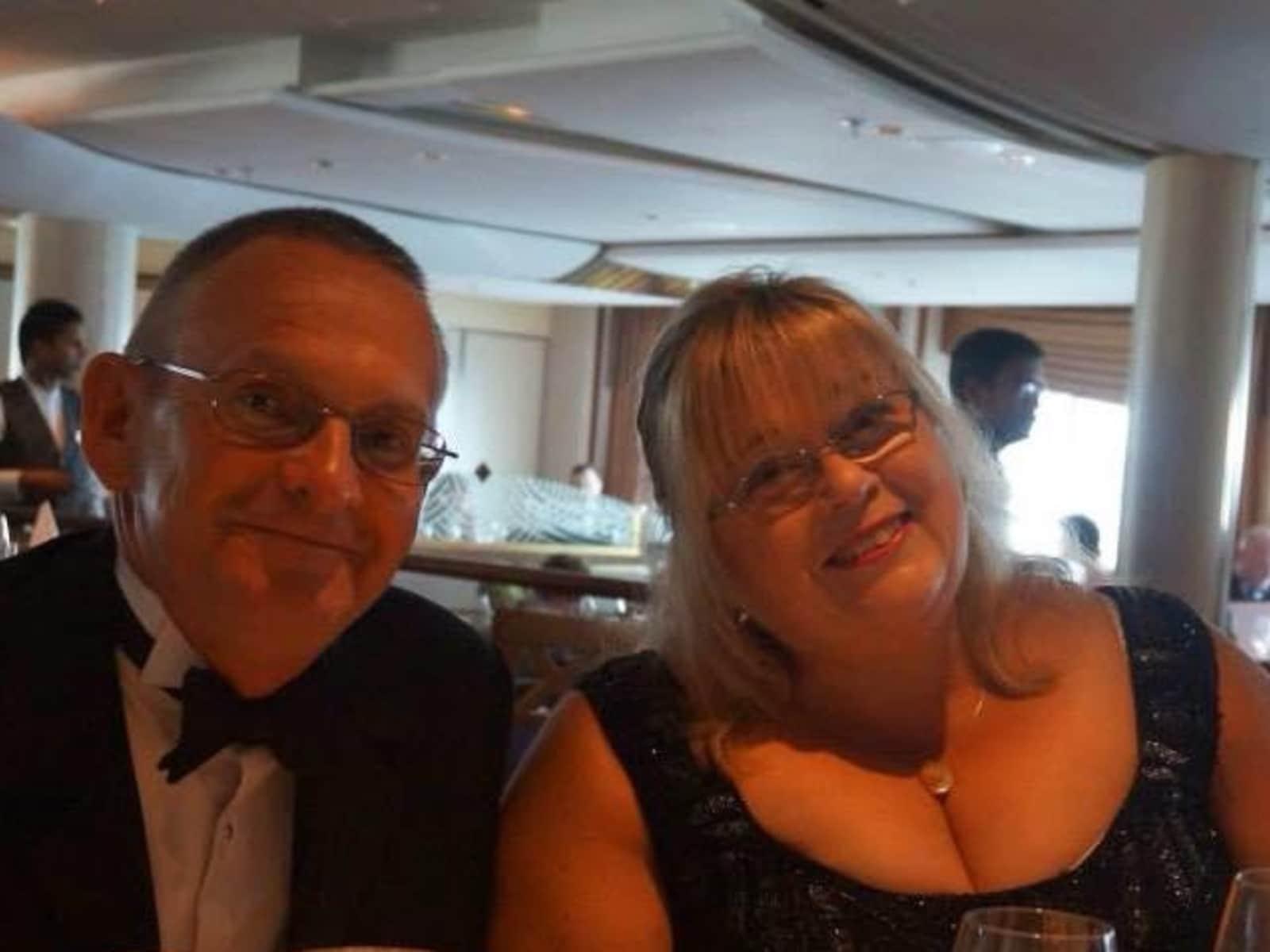 Angela & Geoff from Wisbech, United Kingdom