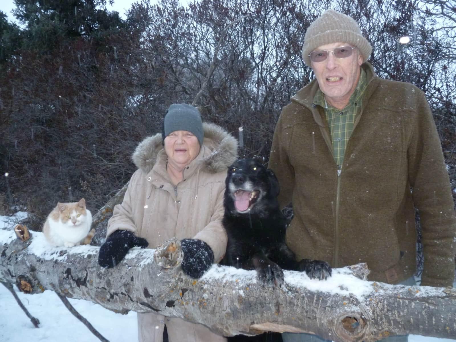 Ken & Karen from Melfort, Saskatchewan, Canada