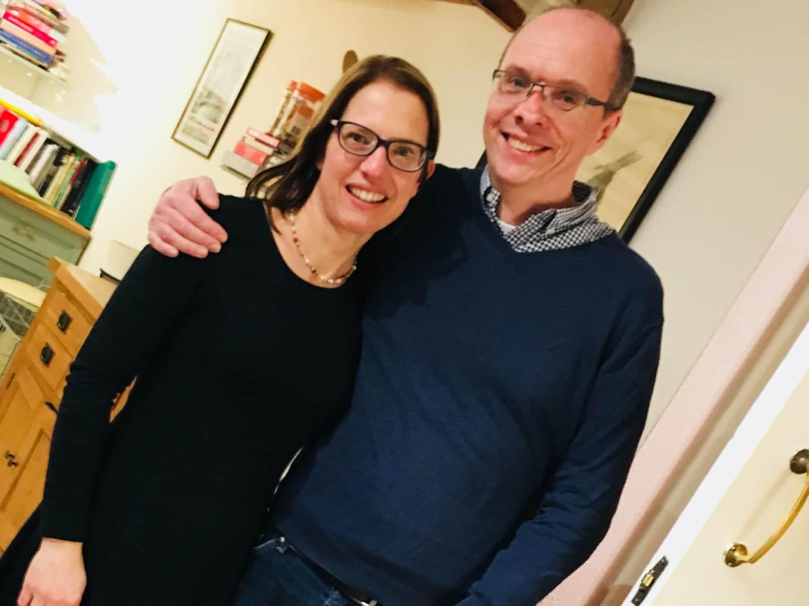 Danya & Stephen from Malmesbury, United Kingdom
