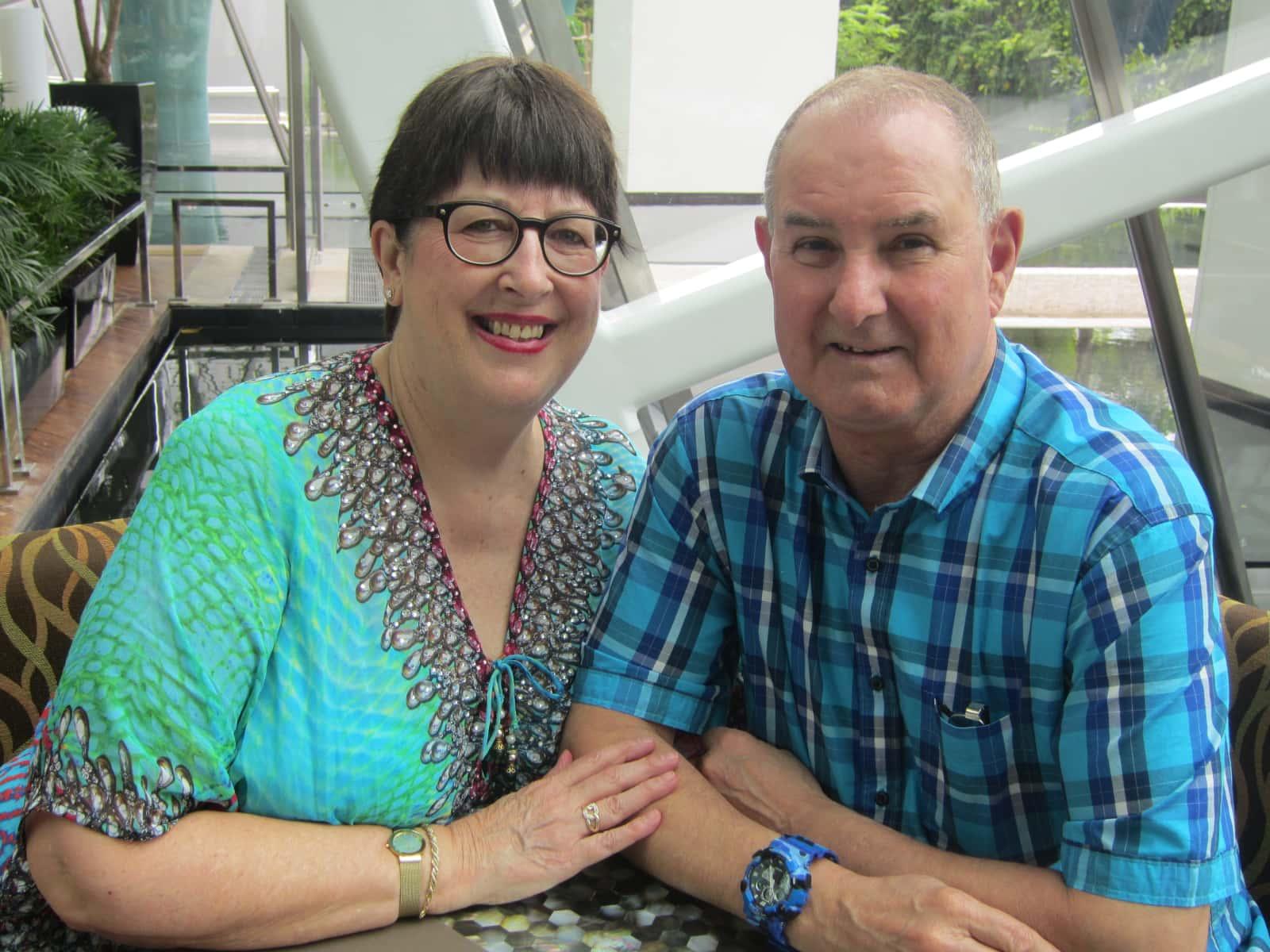 Virginia & Doug from Palmerston North, New Zealand