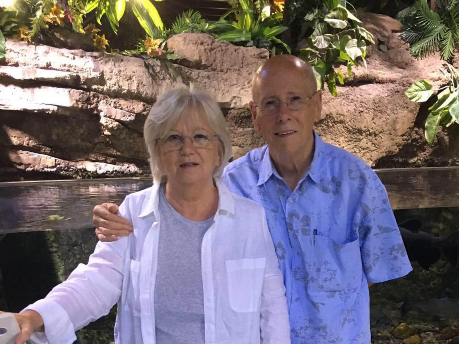 Edward & Maureen from Gourock, United Kingdom