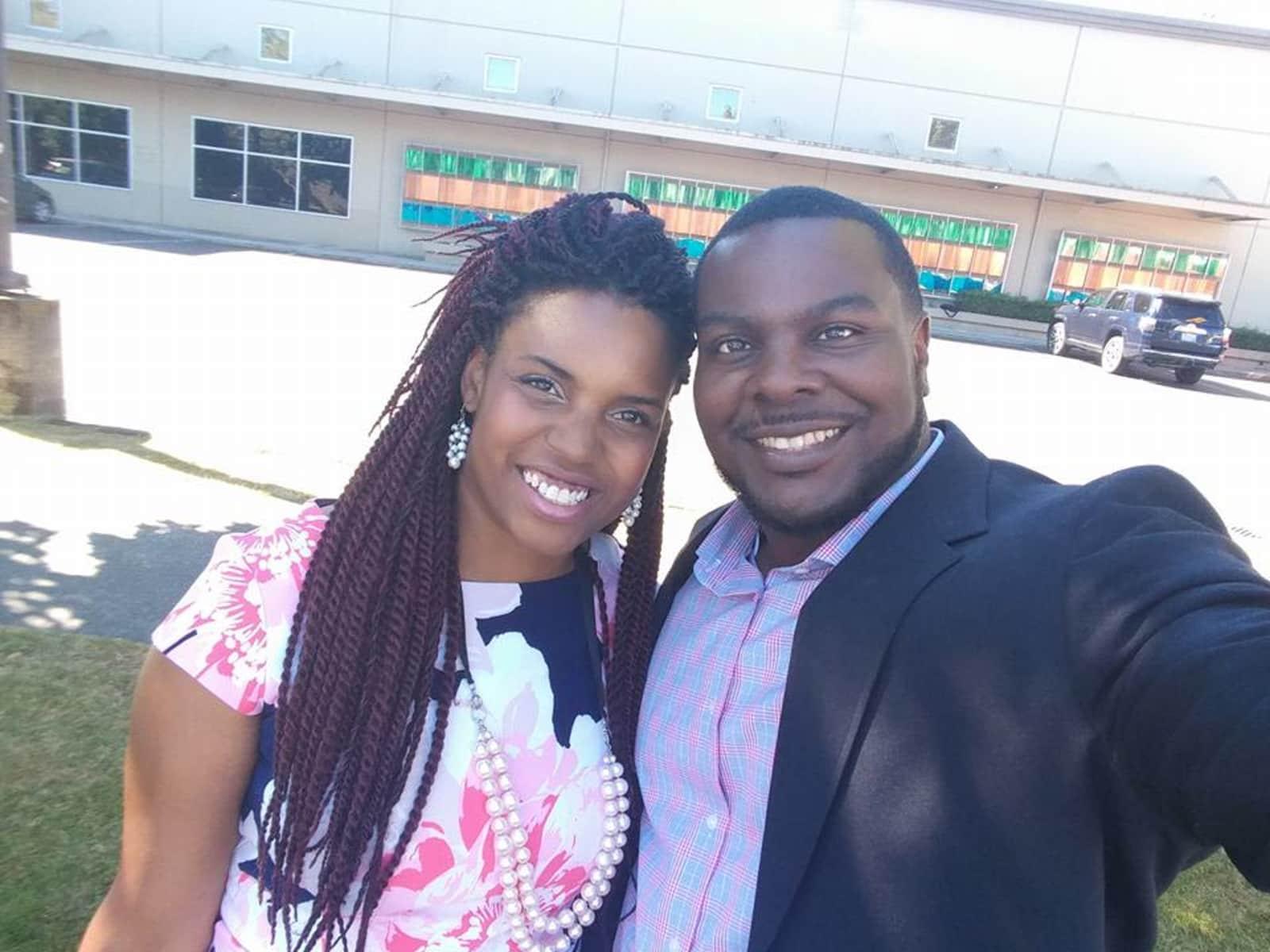 Jamina & Jermaine from Renton, Washington, United States