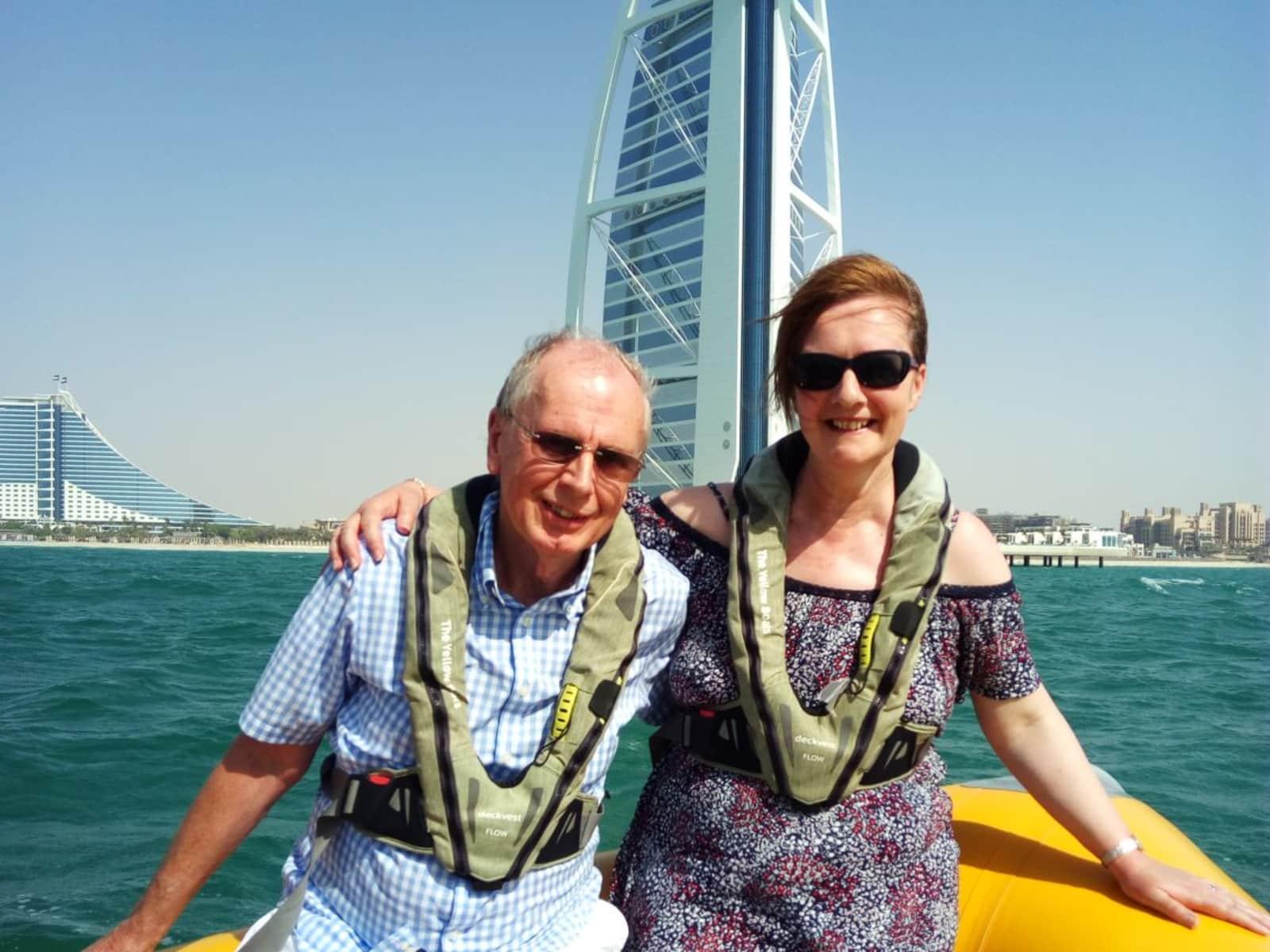 Elaine & John from Wilmslow, United Kingdom