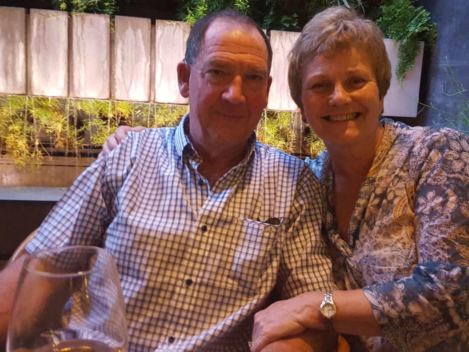 Maggie & Andrew from Ohingaroa, New Zealand