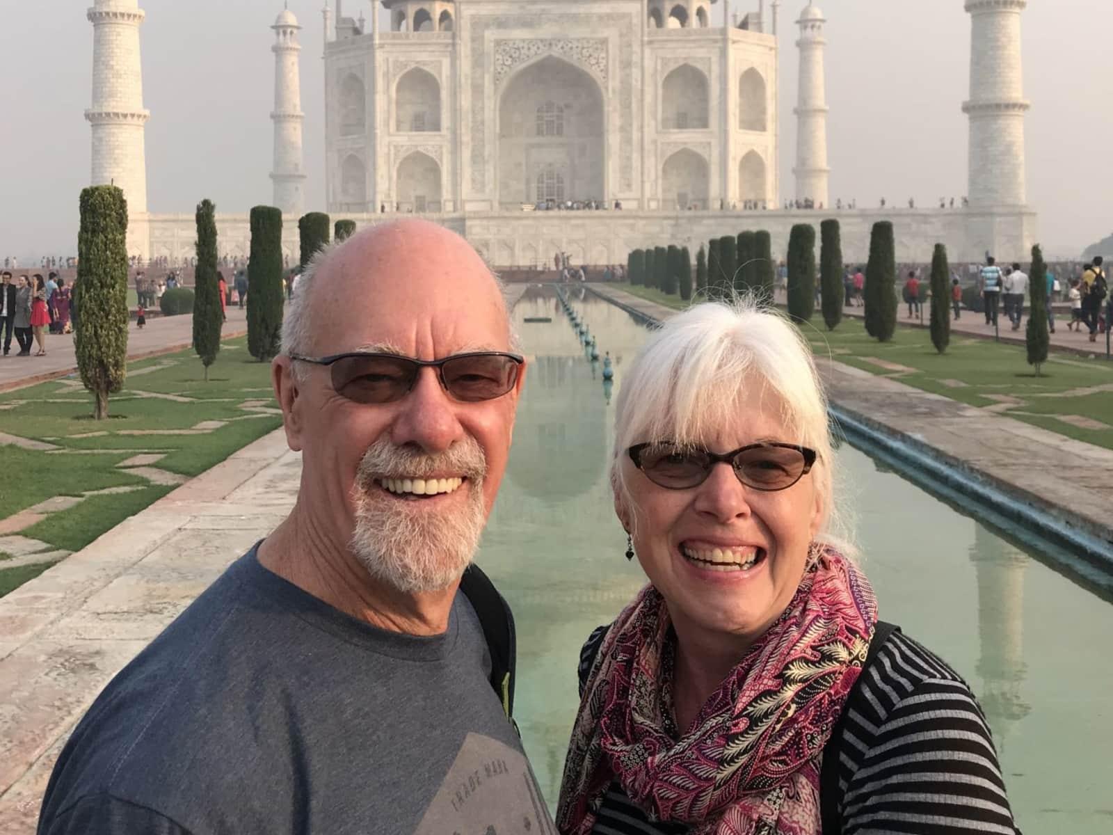 Cathy & Paul from Ashland, Oregon, United States