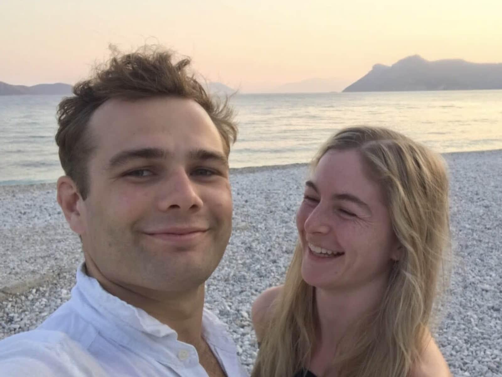 Jake & Louisa from London, United Kingdom