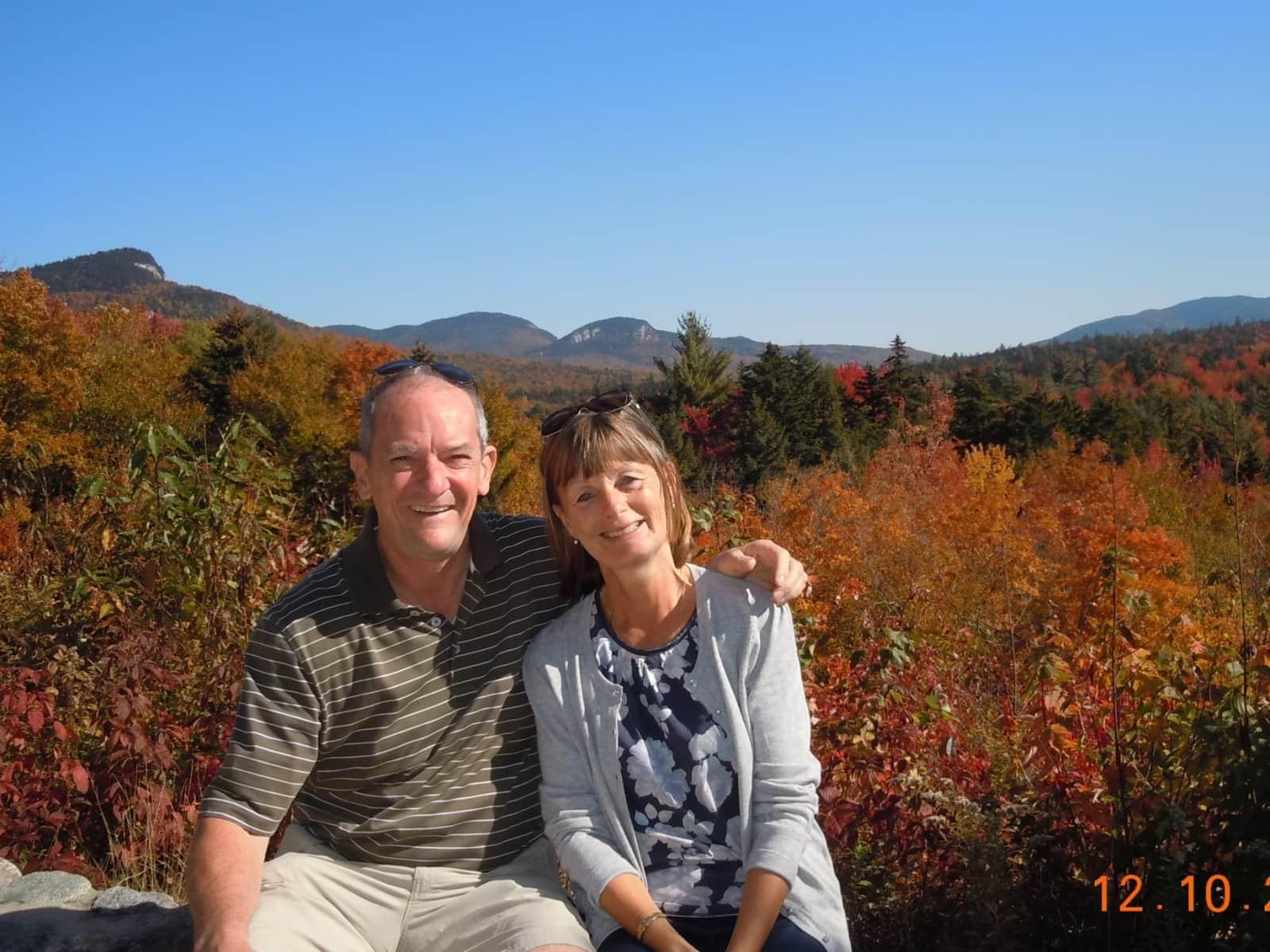 Ann & Dave from Felixstowe, United Kingdom