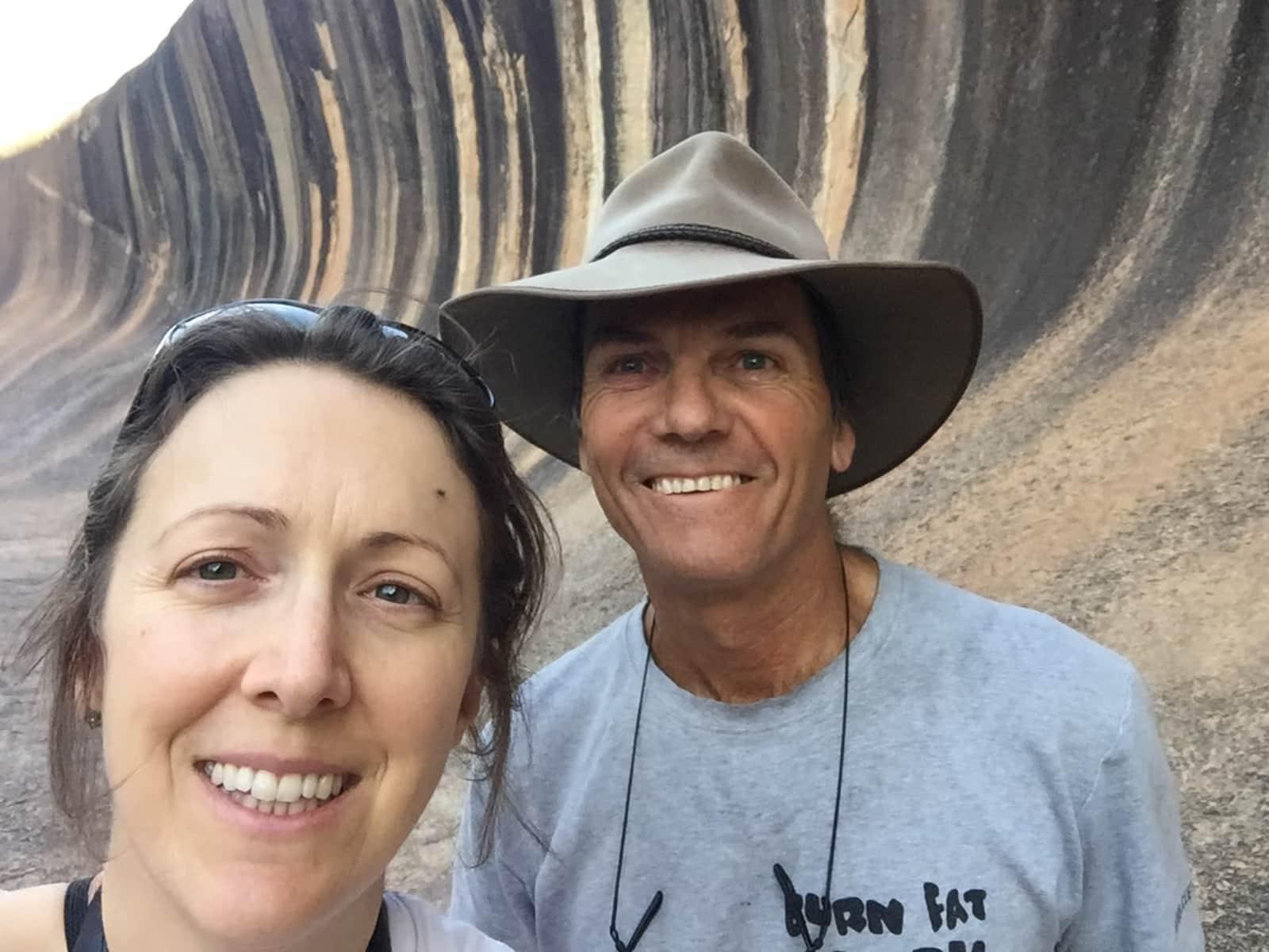 Angela & Mark from Perth, Western Australia, Australia